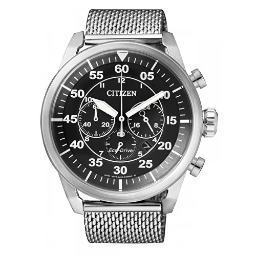 Citizen Eco-Drive Mesch Chrono CA4210-59E hCI725