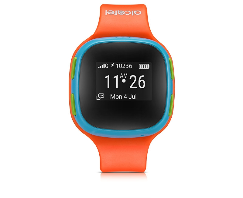 Alcatel MOVE TIME Track&Talk Watch, Orange/Blue hAL007