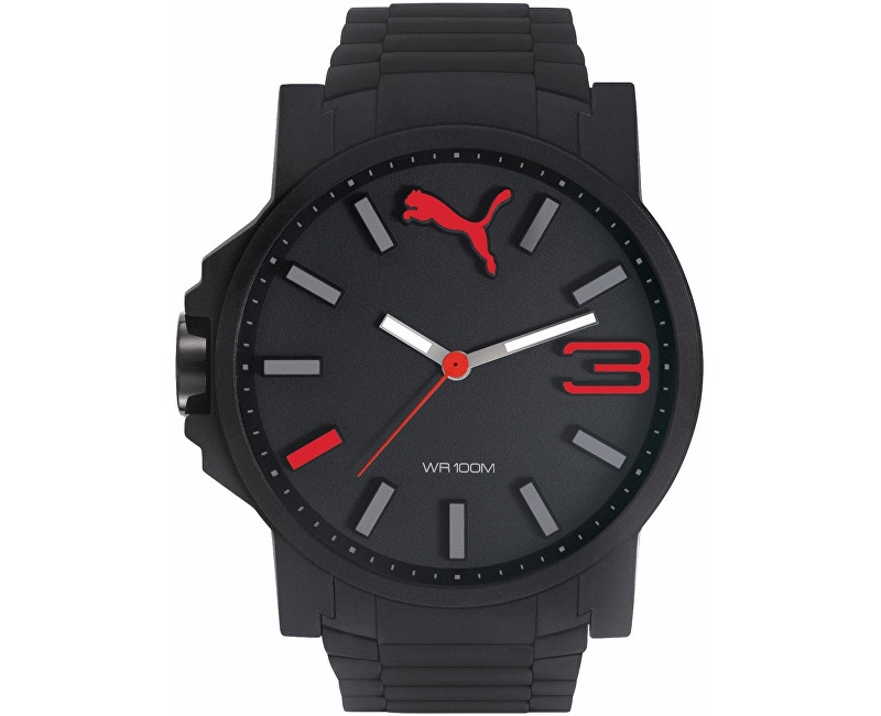 Puma PUMA 10430 ULTRASIZE PLAY 50 - Black Red PU104301004 hPA632
