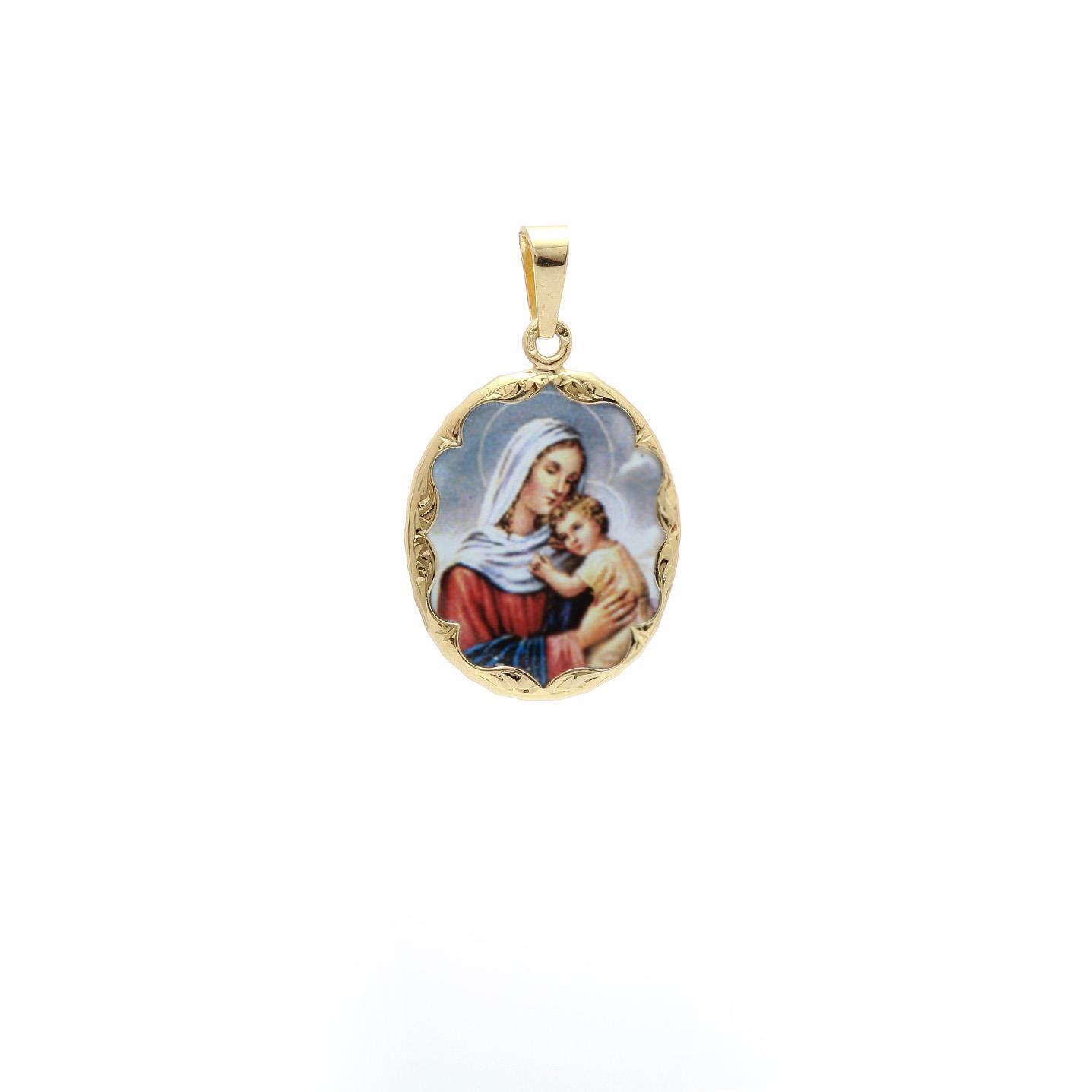 Malý medailón Madony s dieťaťom 2VS00172