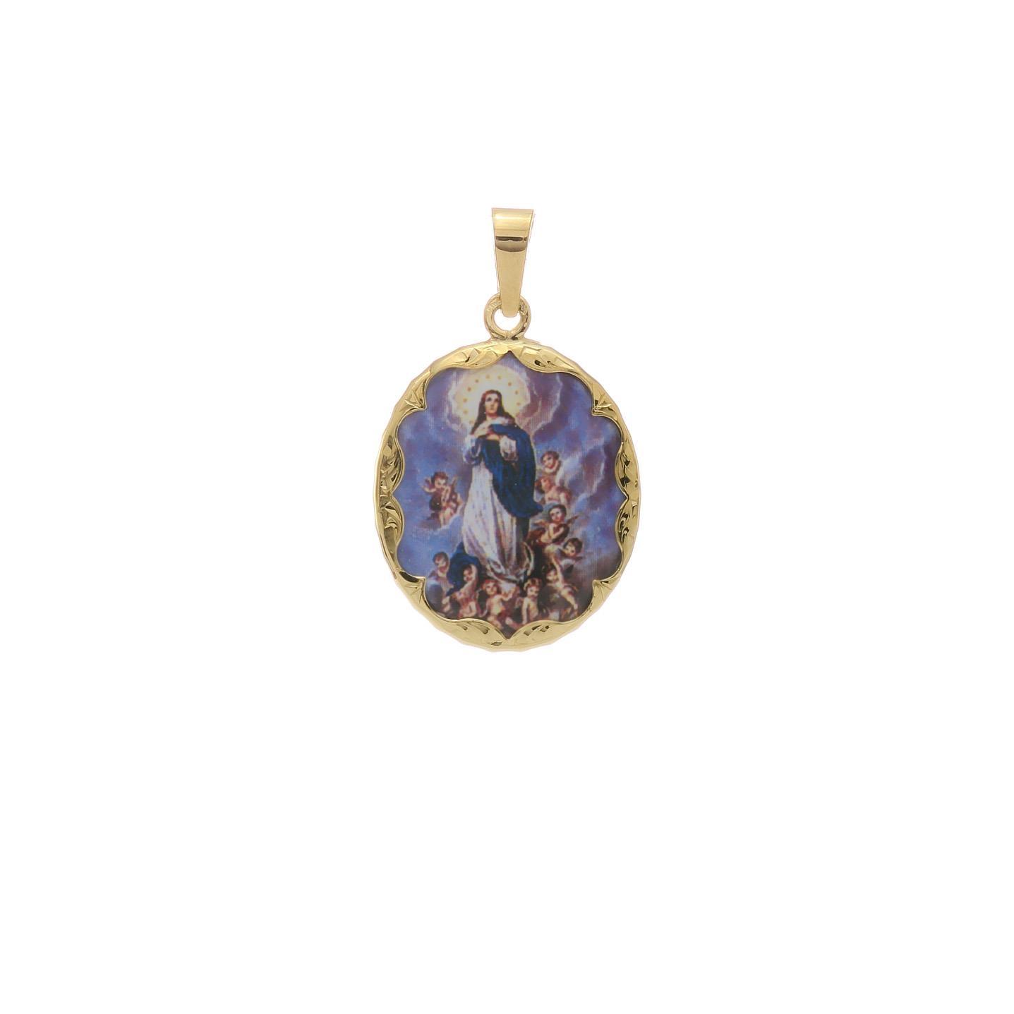 Malý medailón Panny Márie Na Nebo Vzatej 2VS00179