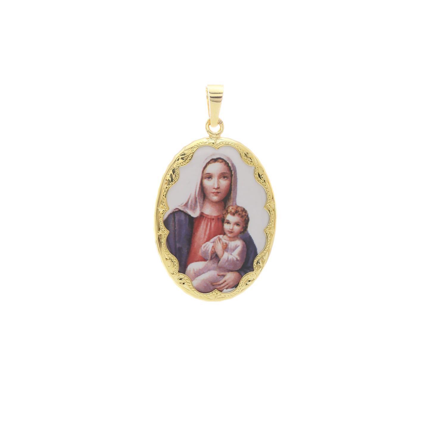 Medailón Božej Matky s dieťaťom  2VS00197