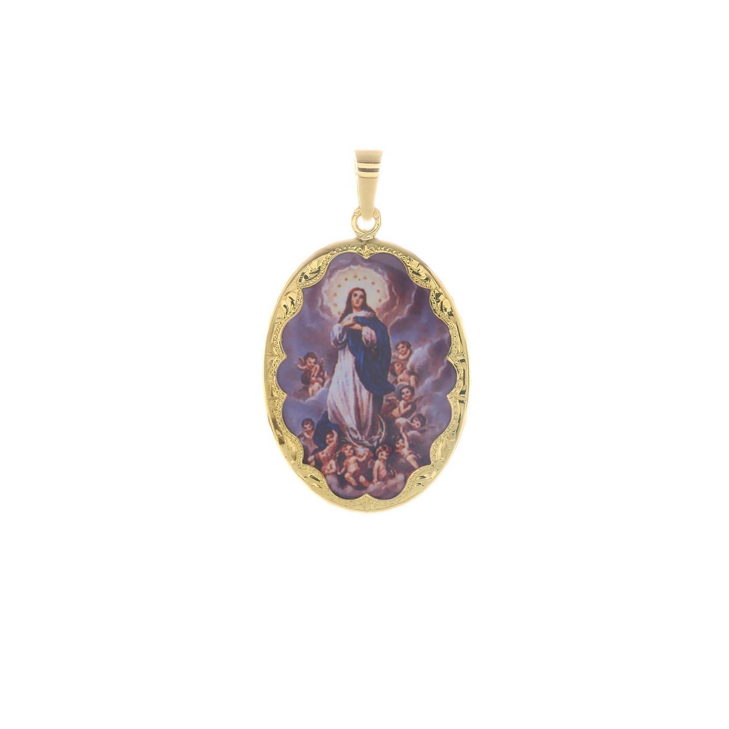 Medailón Panny Márie Na Nebo Vzatej  2VS00186