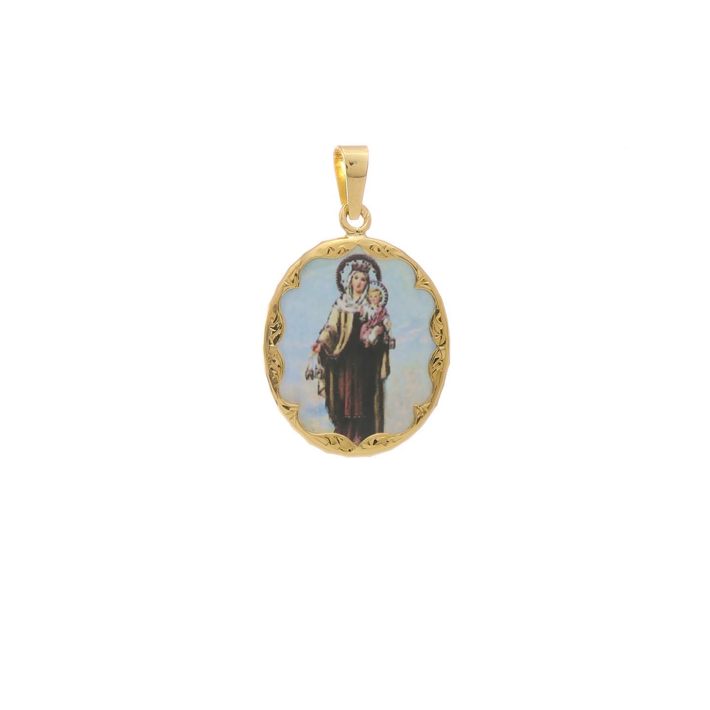 Panna Mária Karmelská malý medailón 2VS00192