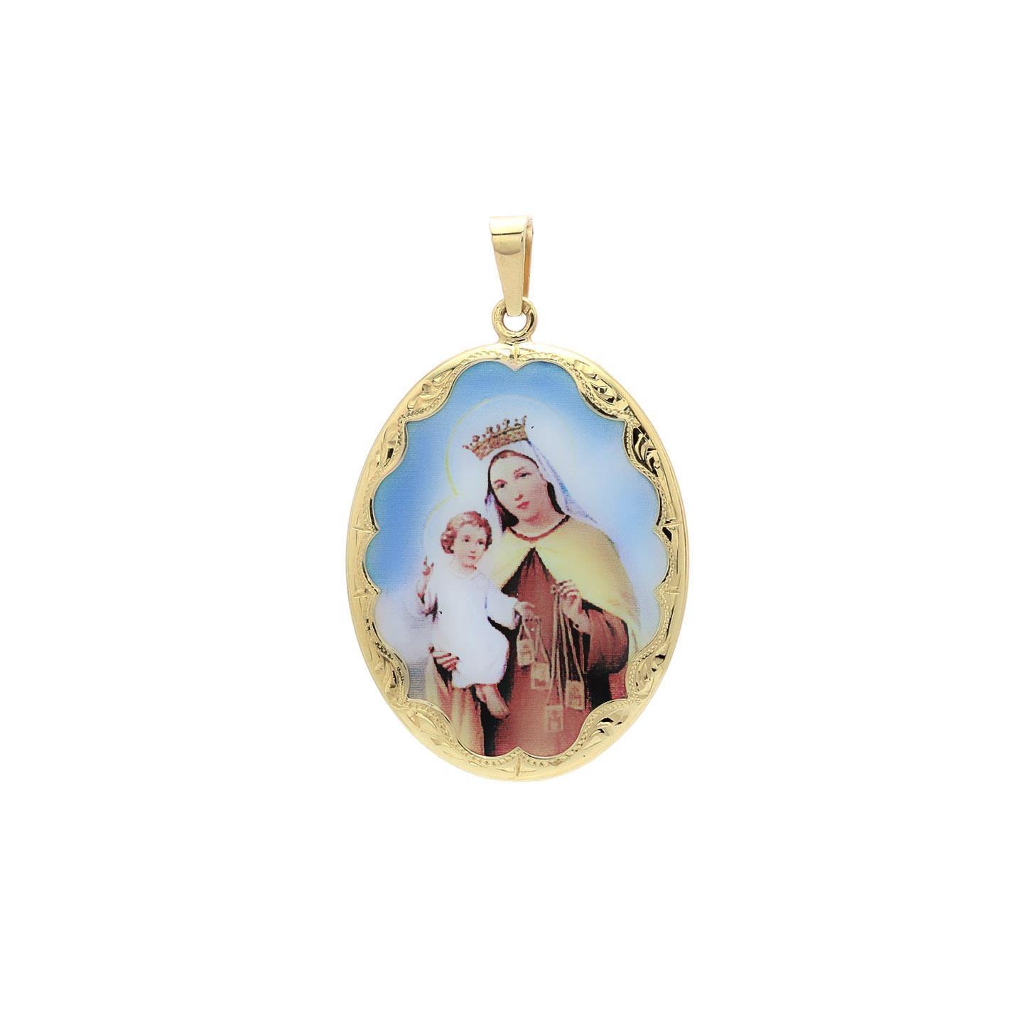 Panna Mária Škapuliarska veľký medailón 2VS00163
