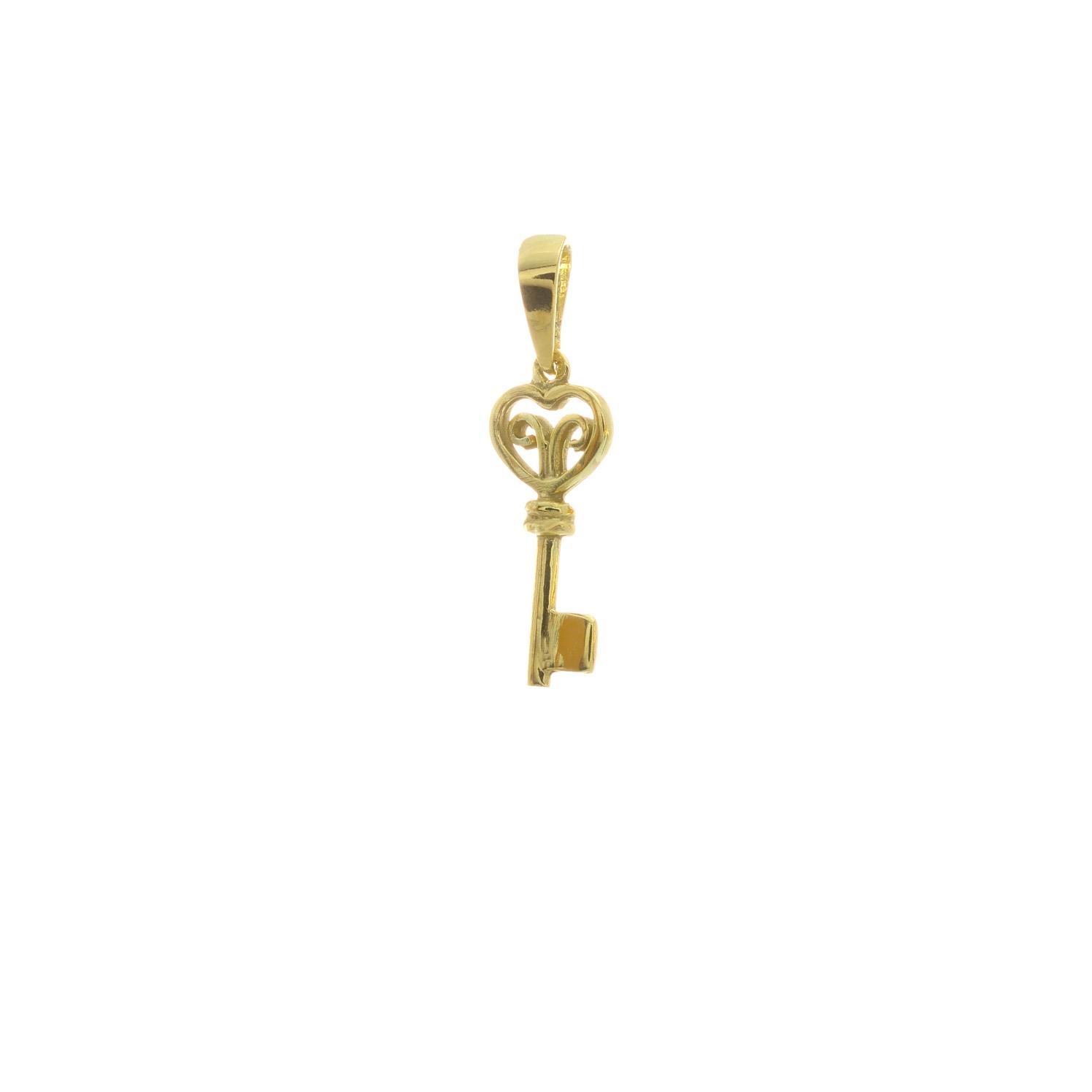 Prívesok KĽÚČIK zo žltého zlata 3VZ00289