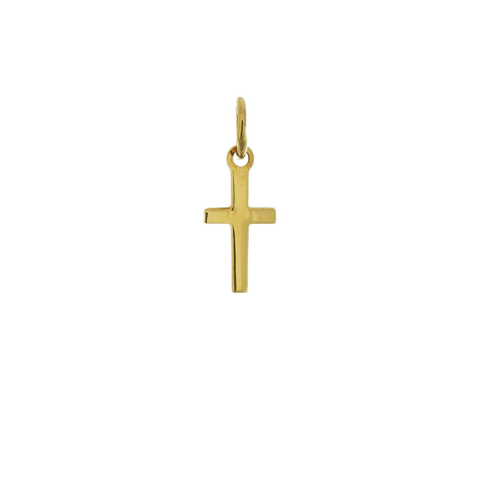 Prívesok krížik zo žltého zlata 1VZ00100