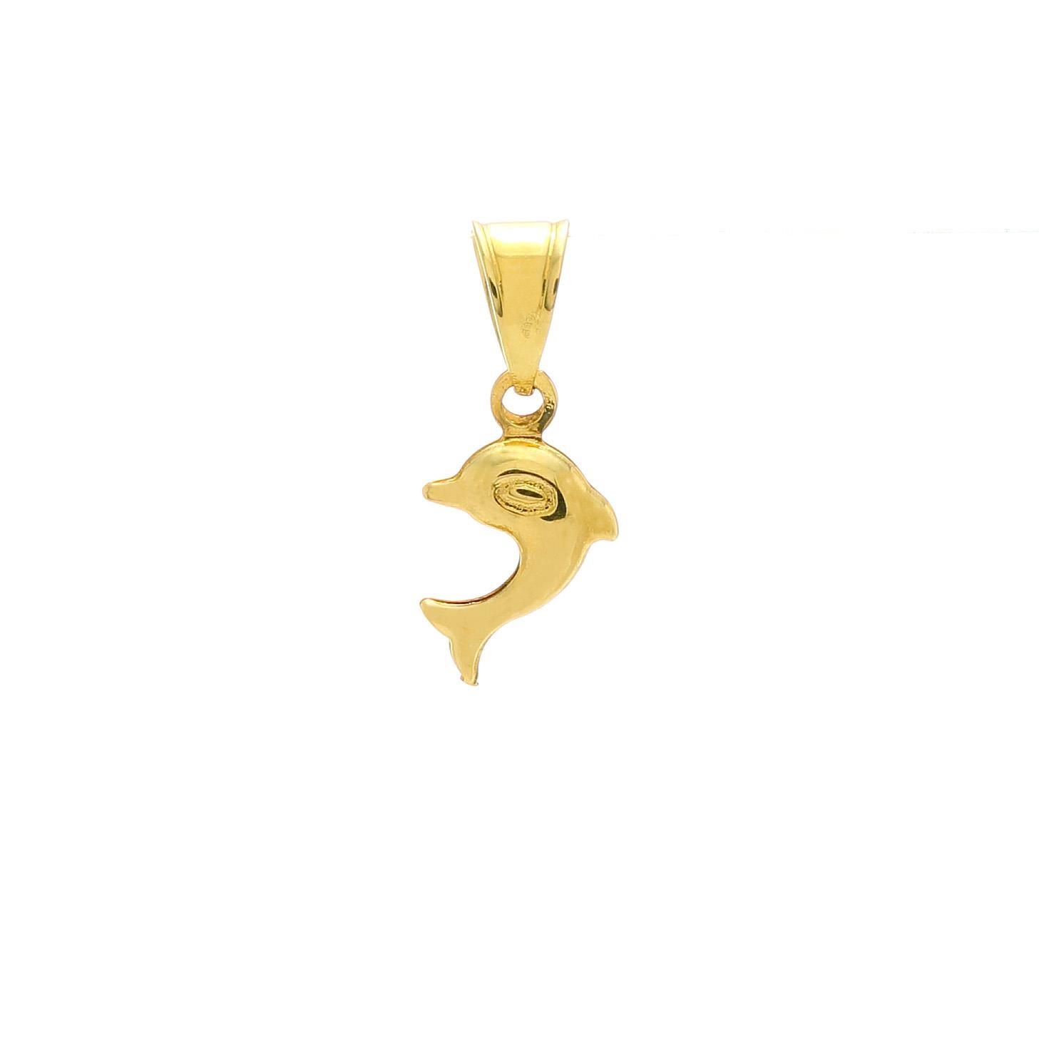 Prívesok MALÝ DELFÍN zo žltého zlata 1VZ00391