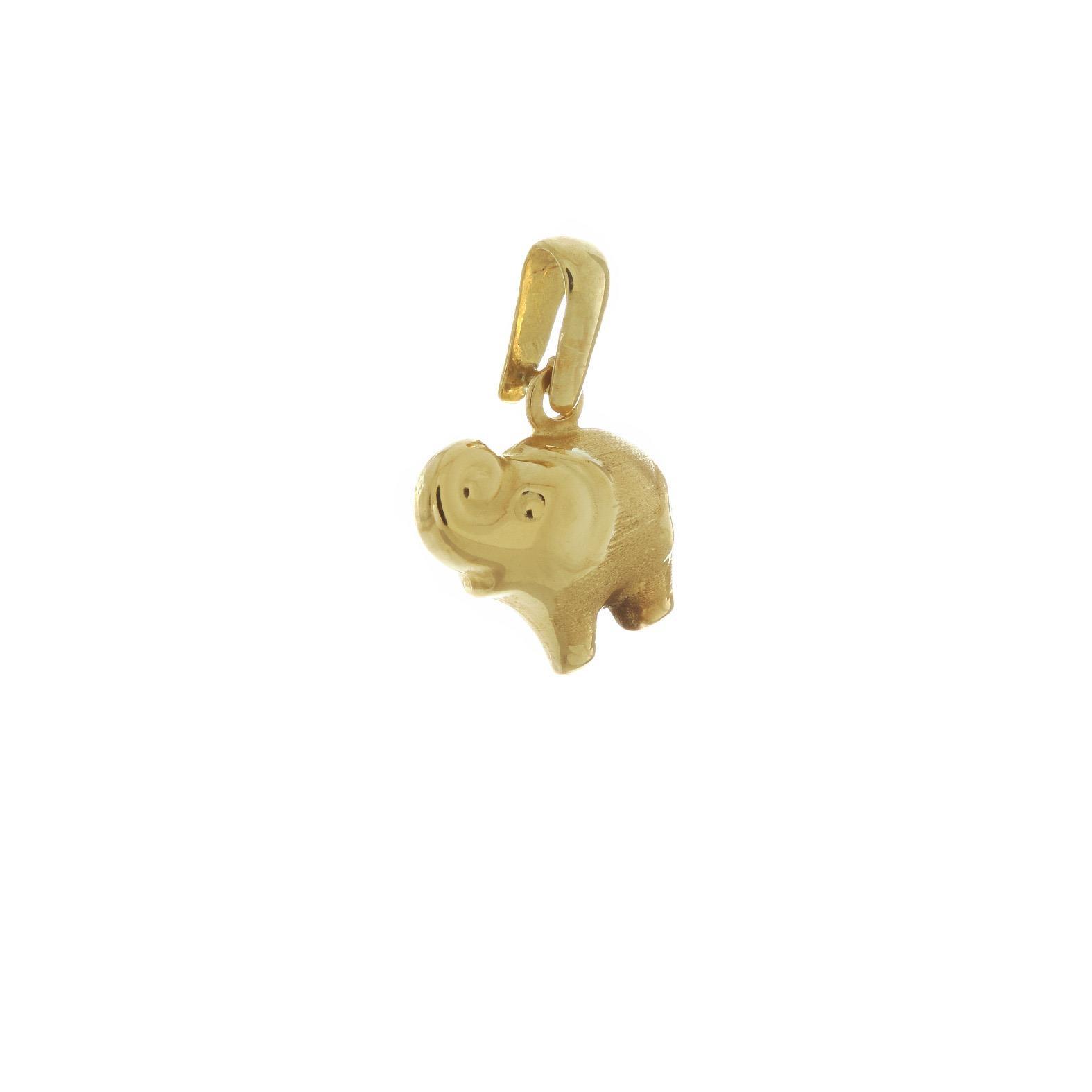 Prívesok zlatý slon 1VZ00063