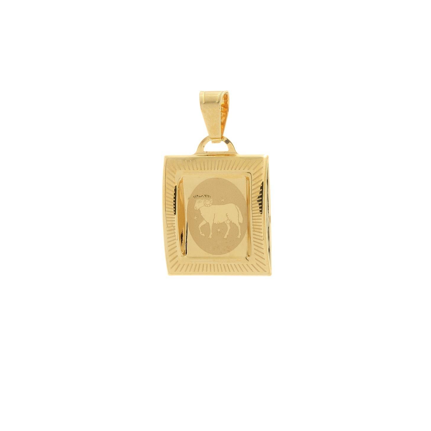 Prívesok znamenie baran zo žltého zlata 1VZ00210
