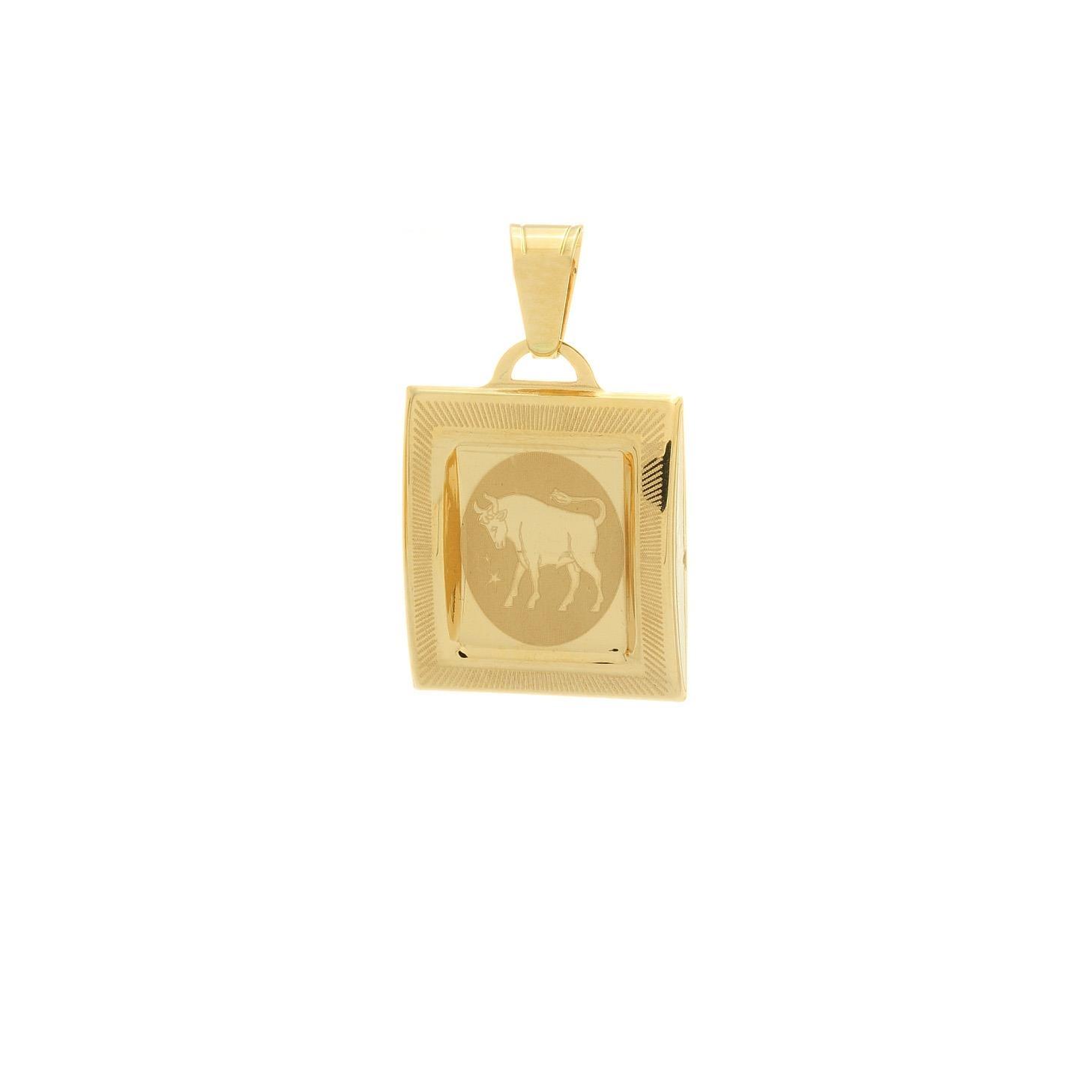 Prívesok znamenie býk zo žltého zlata 1VZ00213