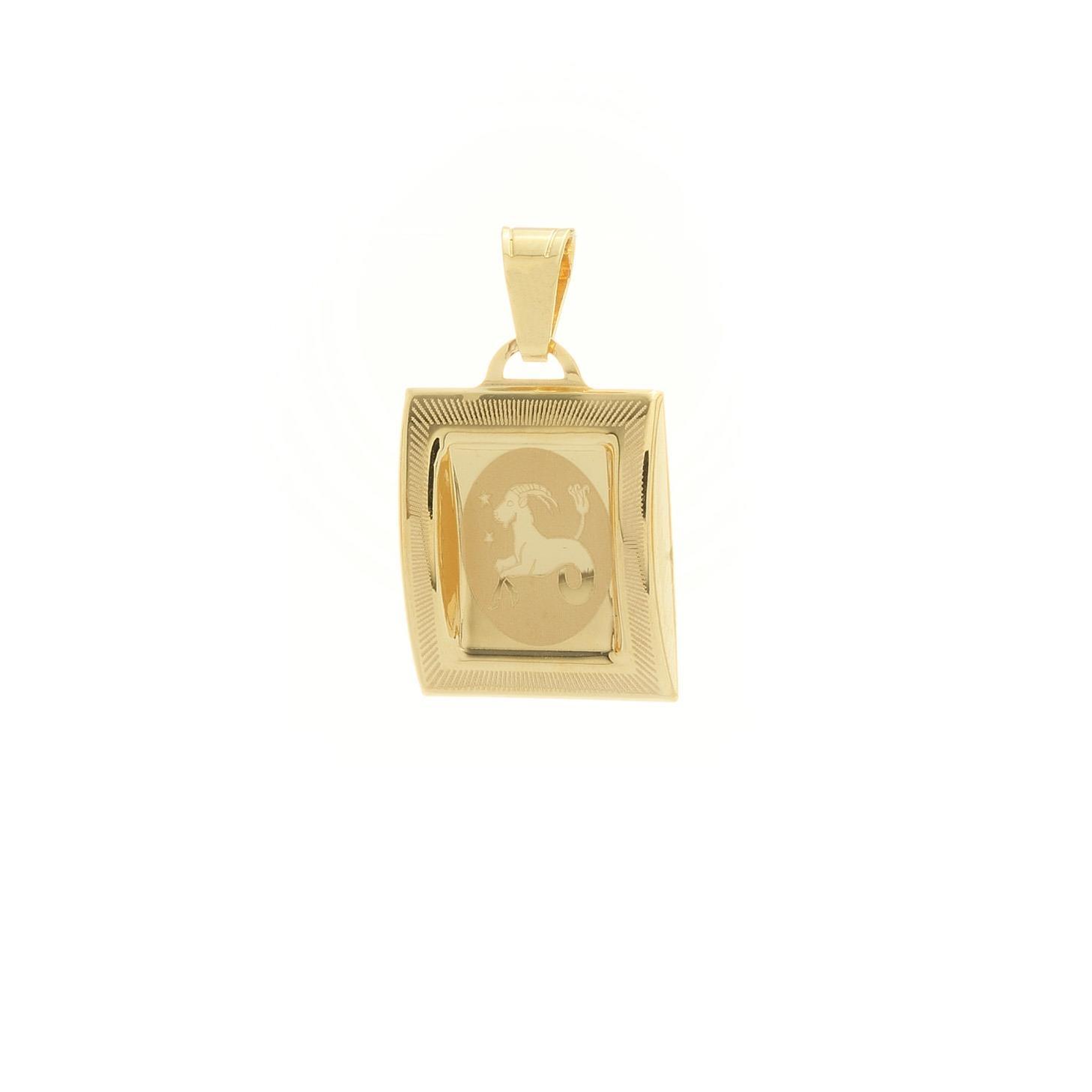 Prívesok znamenie kozorožec zo žltého zlata 1VZ00219