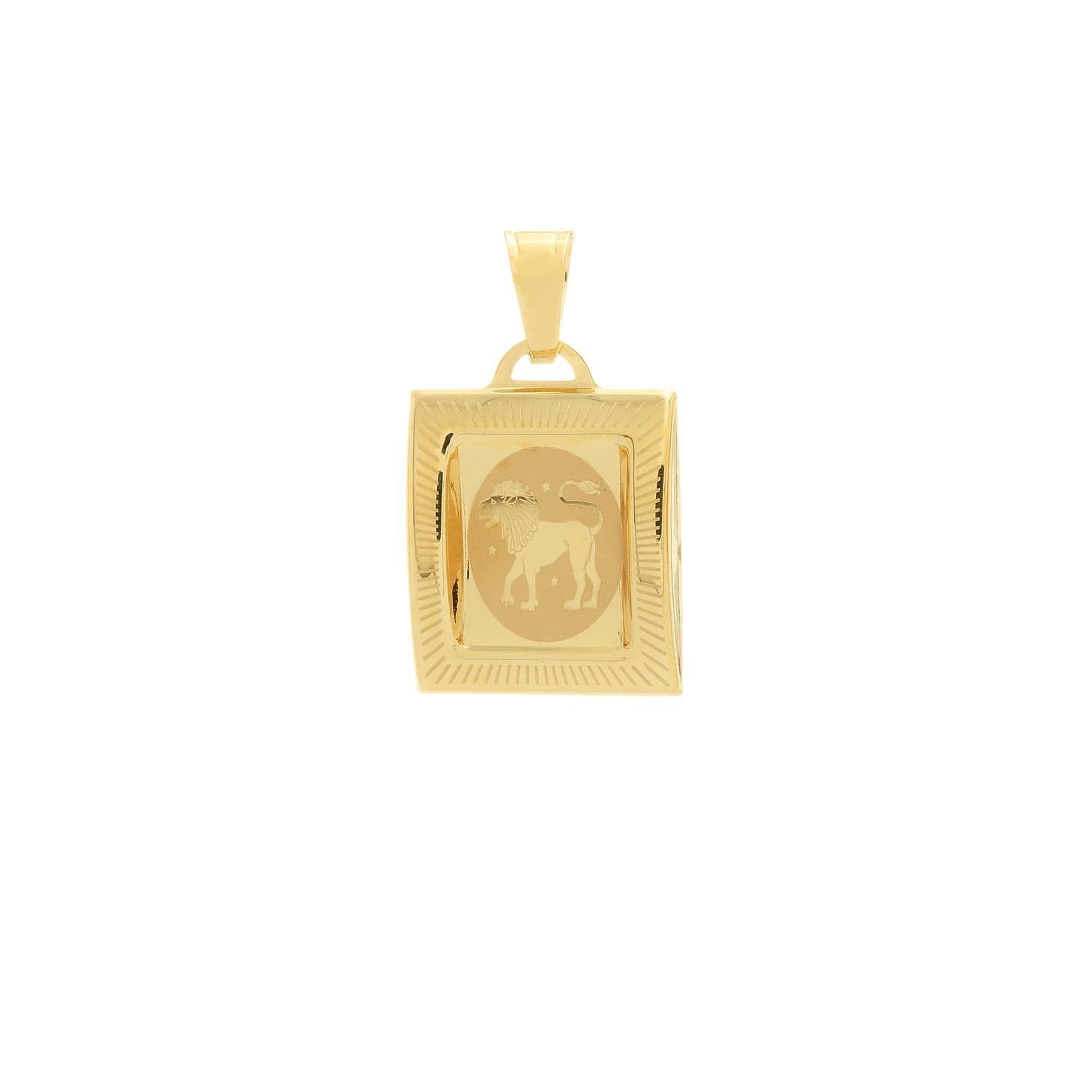 Prívesok znamenie lev zo žltého zlata 1VZ00211