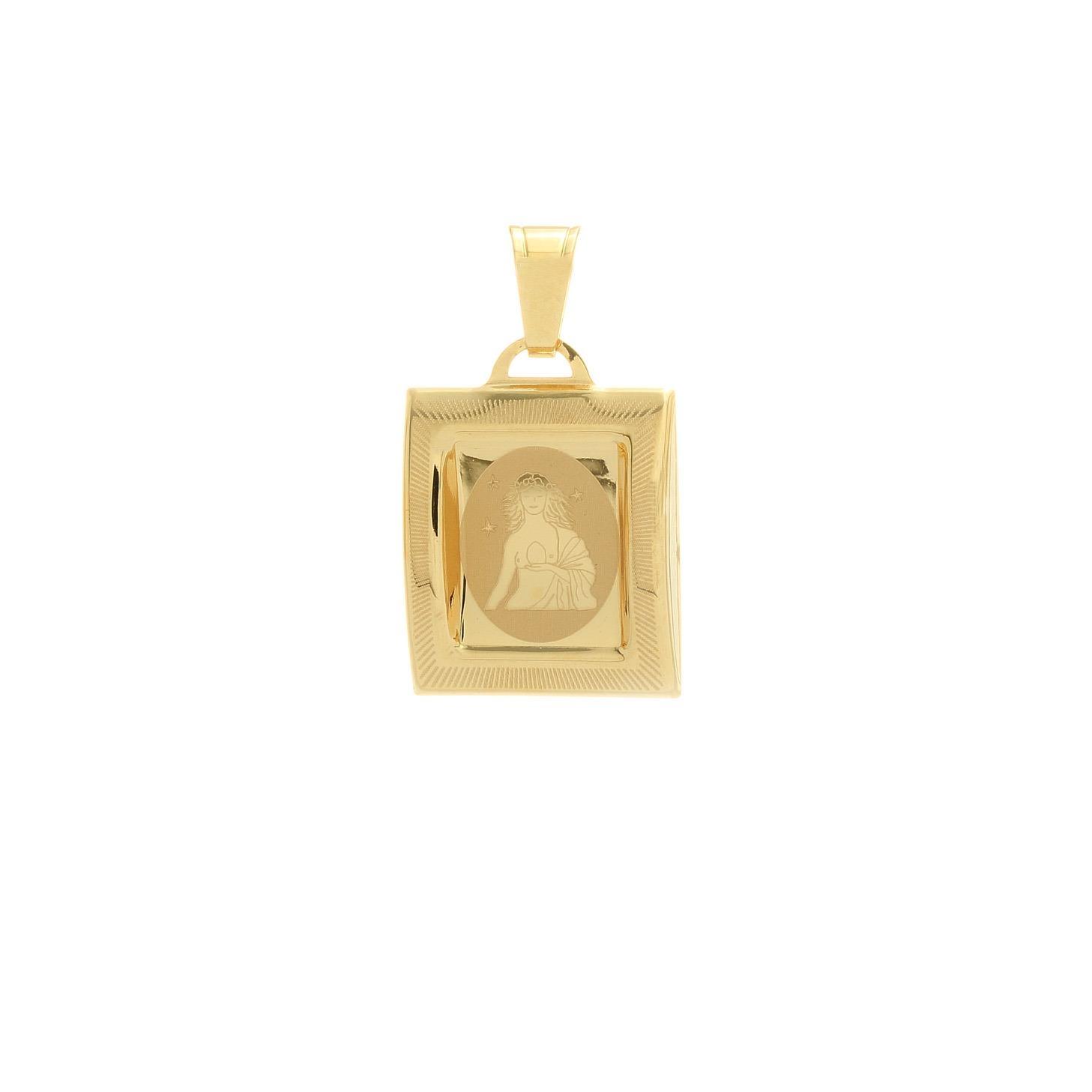 Prívesok znamenie panna zo žltého zlata 1VZ00214