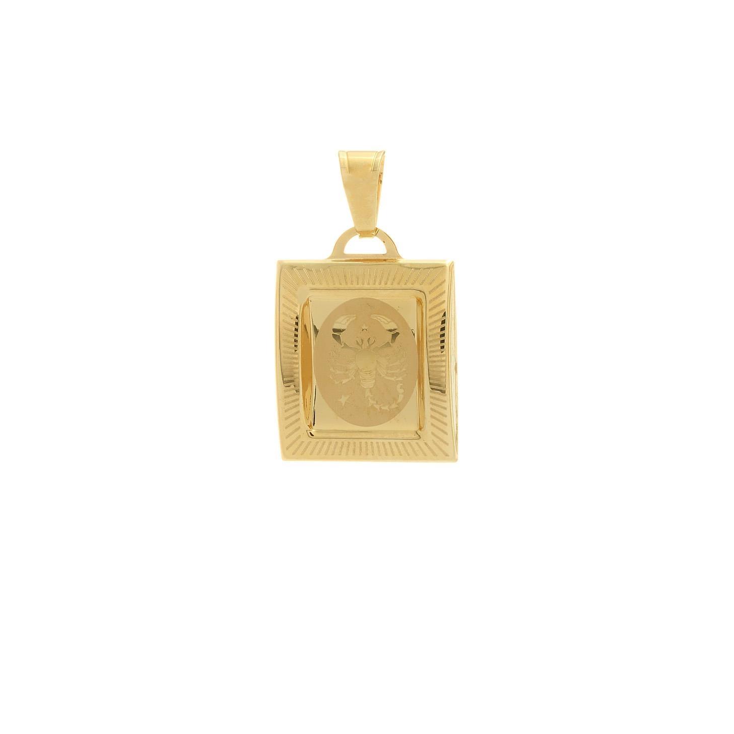 Prívesok znamenie škorpión zo žltého zlata 1VZ00216