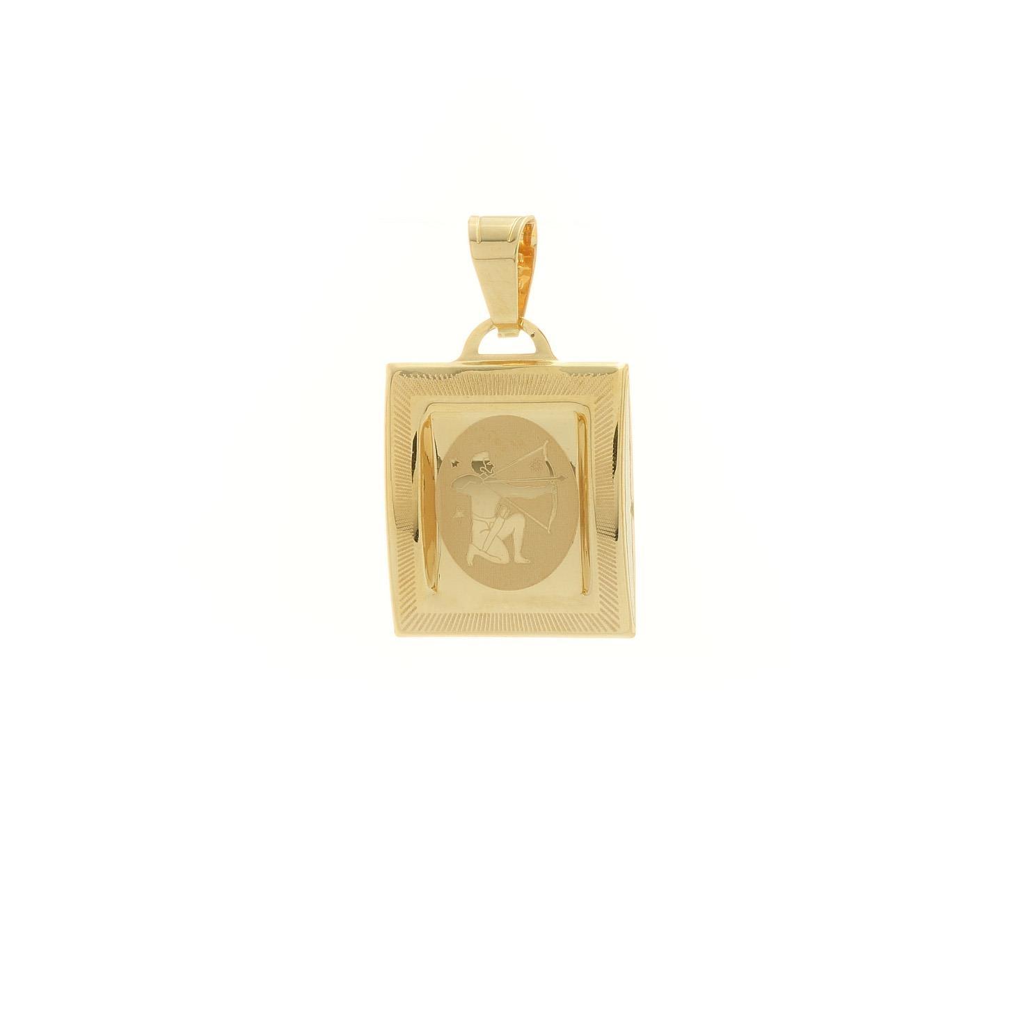 Prívesok znamenie strelec zo žltého zlata 1VZ00218