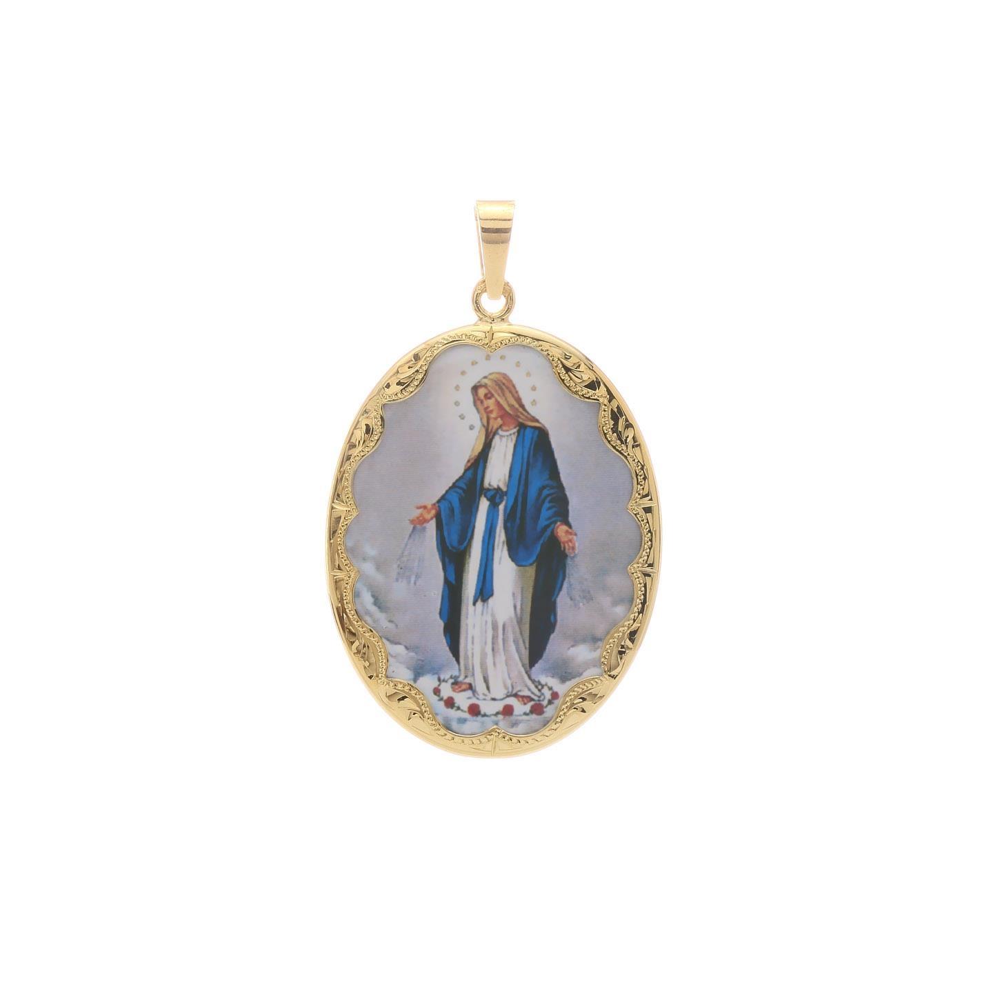 Veľký medailón Božej Matky Márie 2VS00187