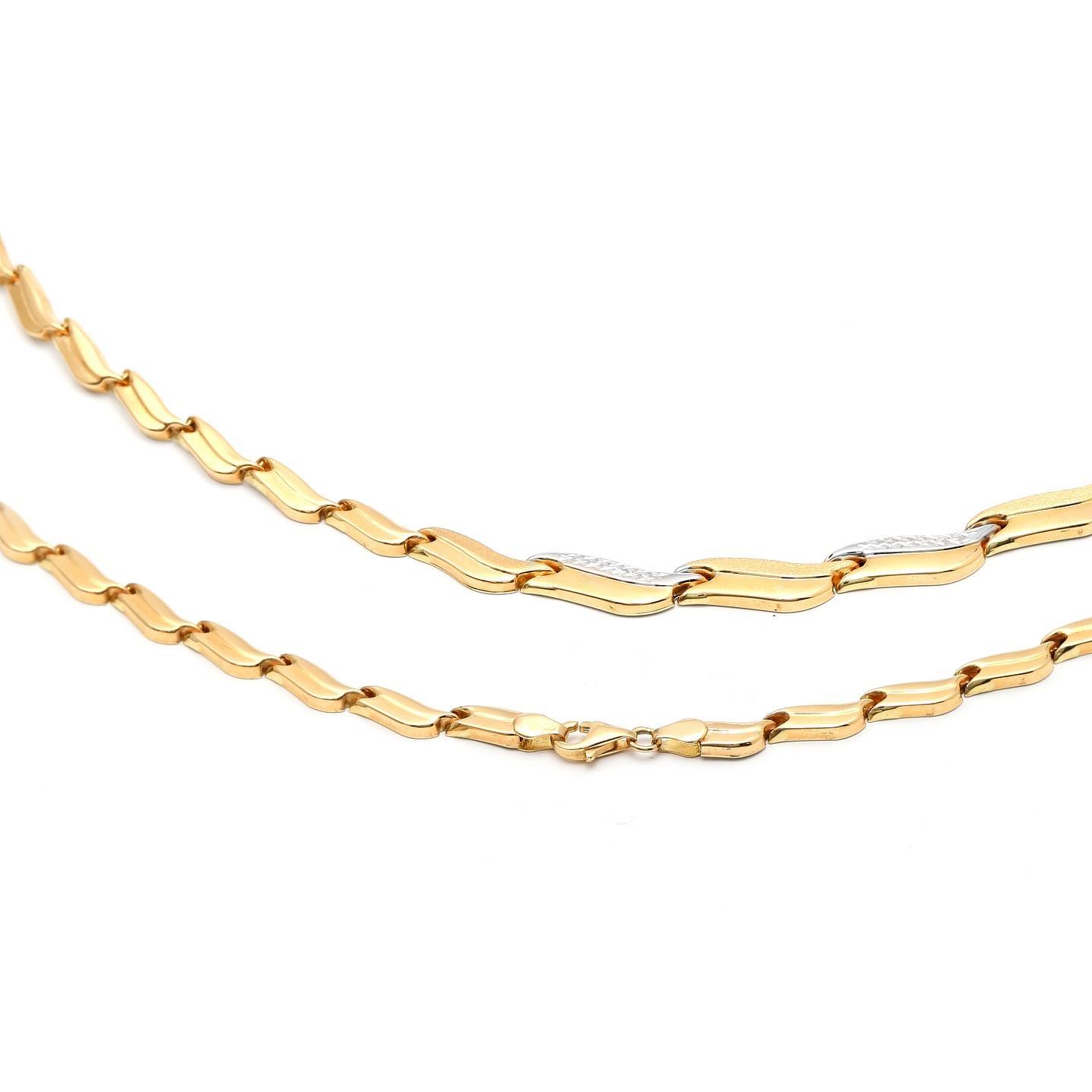 Zlatá dámska retiazka ADALA 1RK00032