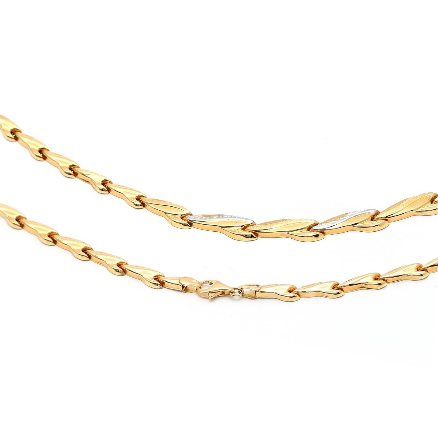 Zlatá dámska retiazka Angioletta 1RK00007