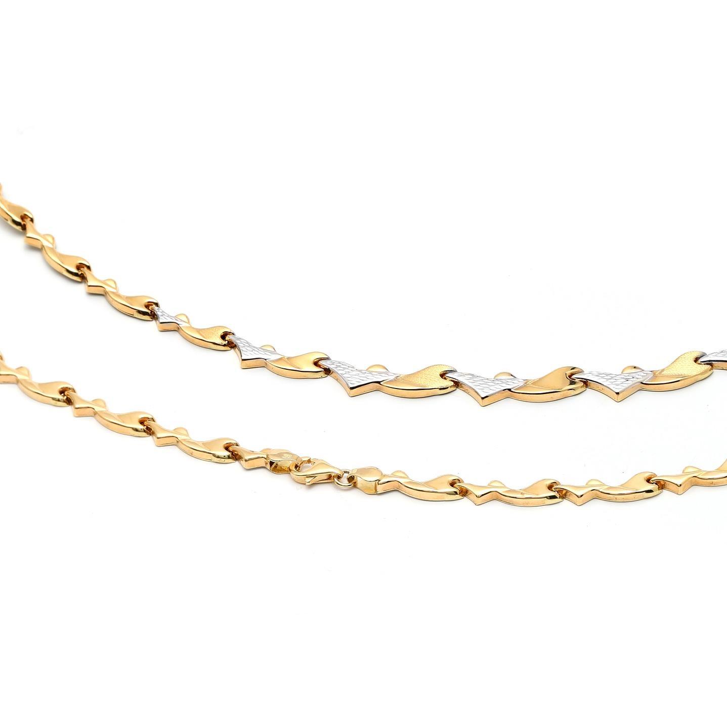 Zlatá dámska retiazka Anjelica 1RK00008