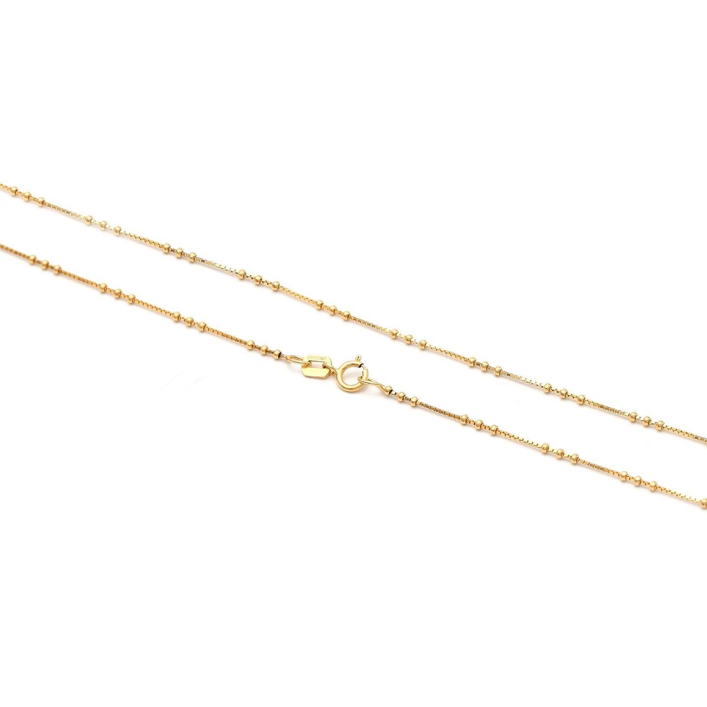 Zlatá dámska retiazka Anonciada 1RZ00011