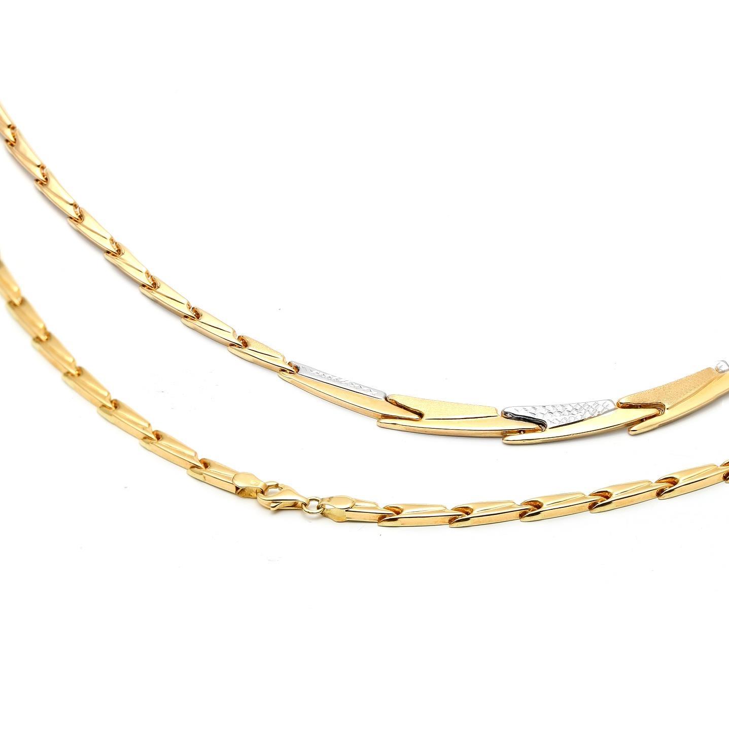 Zlatá dámska retiazka MARIELLA 1RK00016