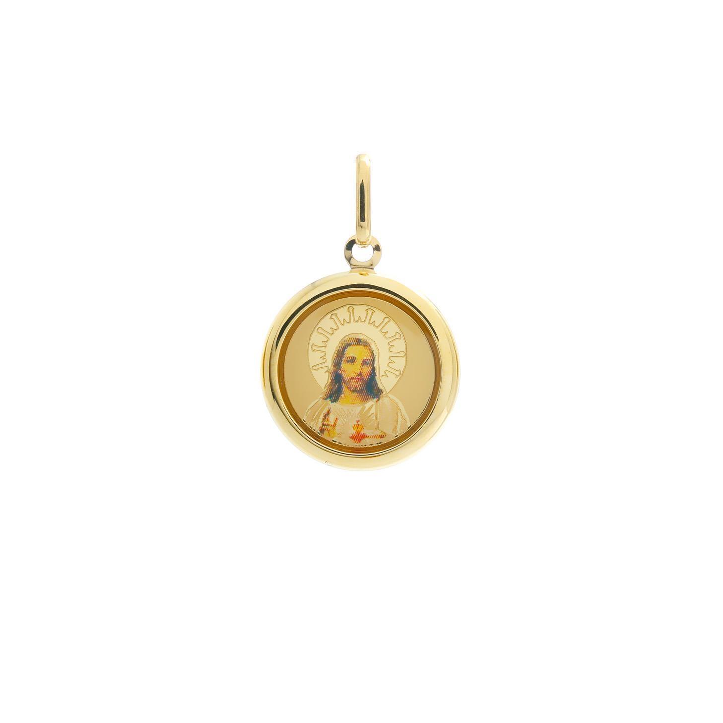 Zlatá madonka Božské Srdce Ježišovo 10VS00469