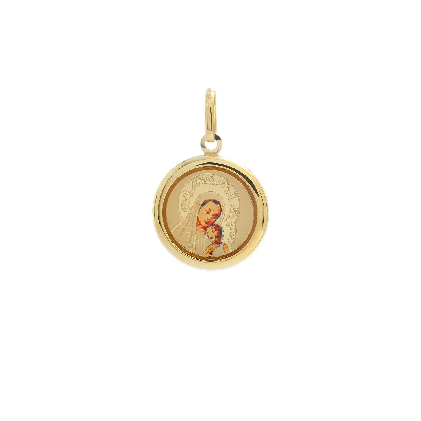 Zlatá madonka Panny Márie s dieťaťom 10VS00467