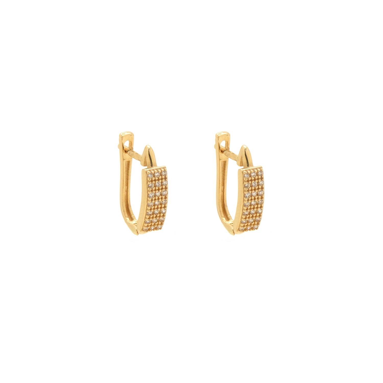Zlaté dámske náušnice ANDERE 7NZ00264