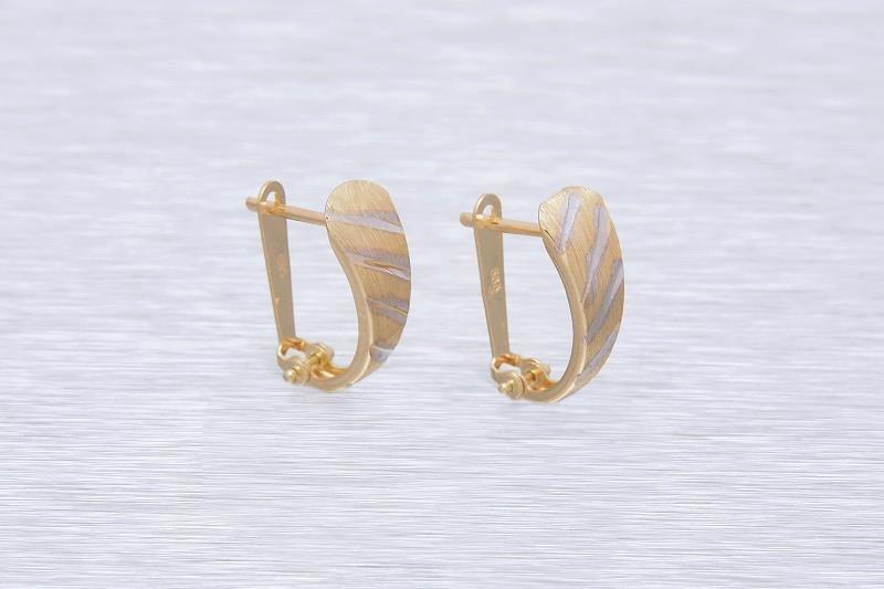 Zlaté dámske náušnice LISA  1NZ00134