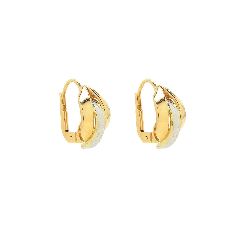 Zlaté dámske náušnice LUCIANA 1 1NK00136