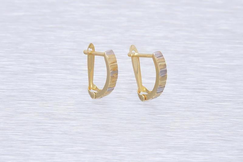 Zlaté náušnice k uchu MIRELLA 1NK00146