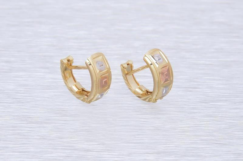 Zlaté náušnice LUCREZIA 1NK00137