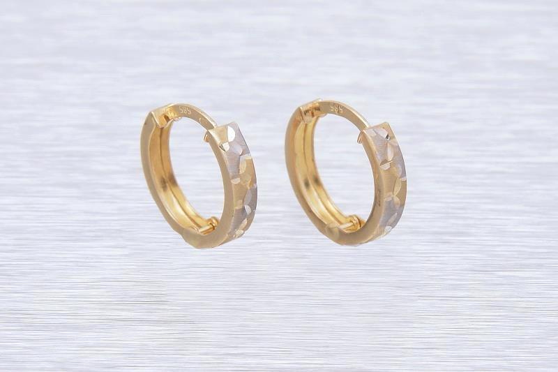 Zlaté náušnice NUNZIA 1NK00163