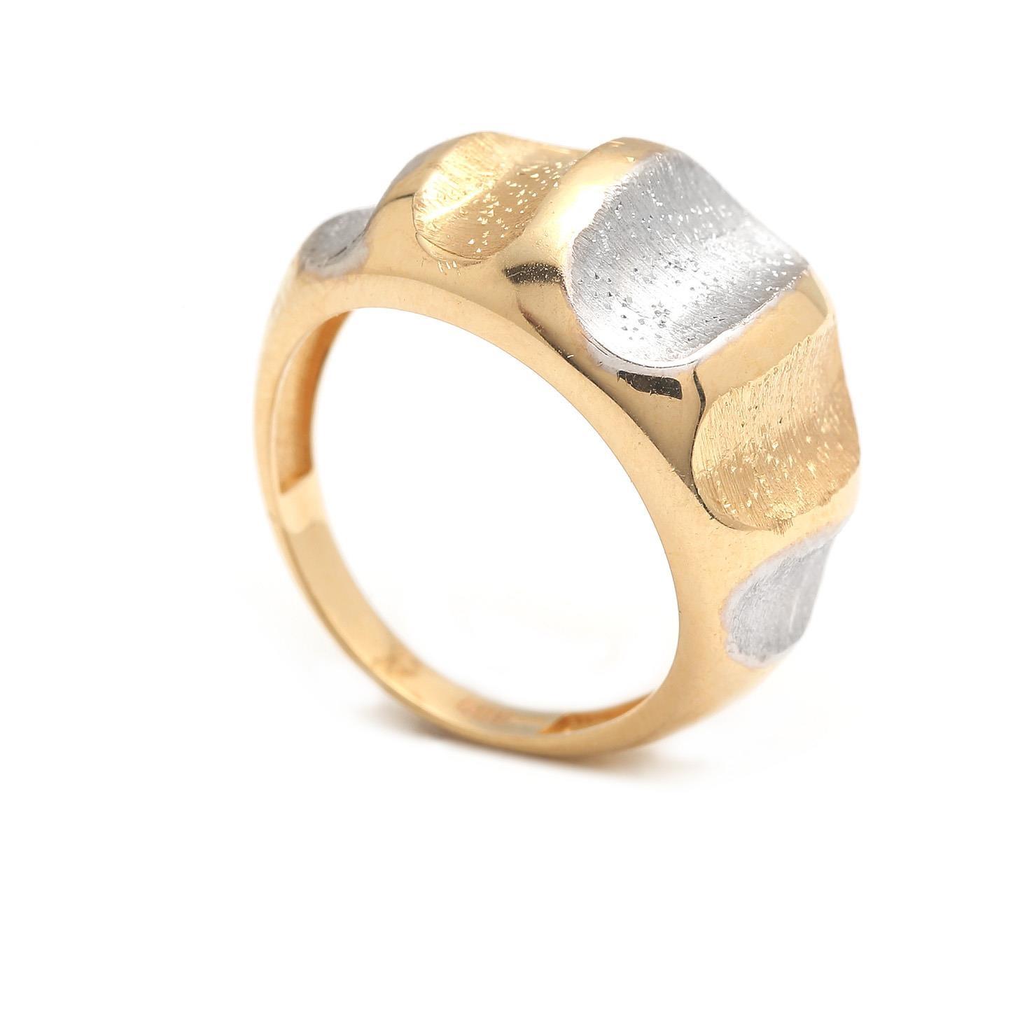 Zlatý dámsky prsteň ADIVA 4PK00194