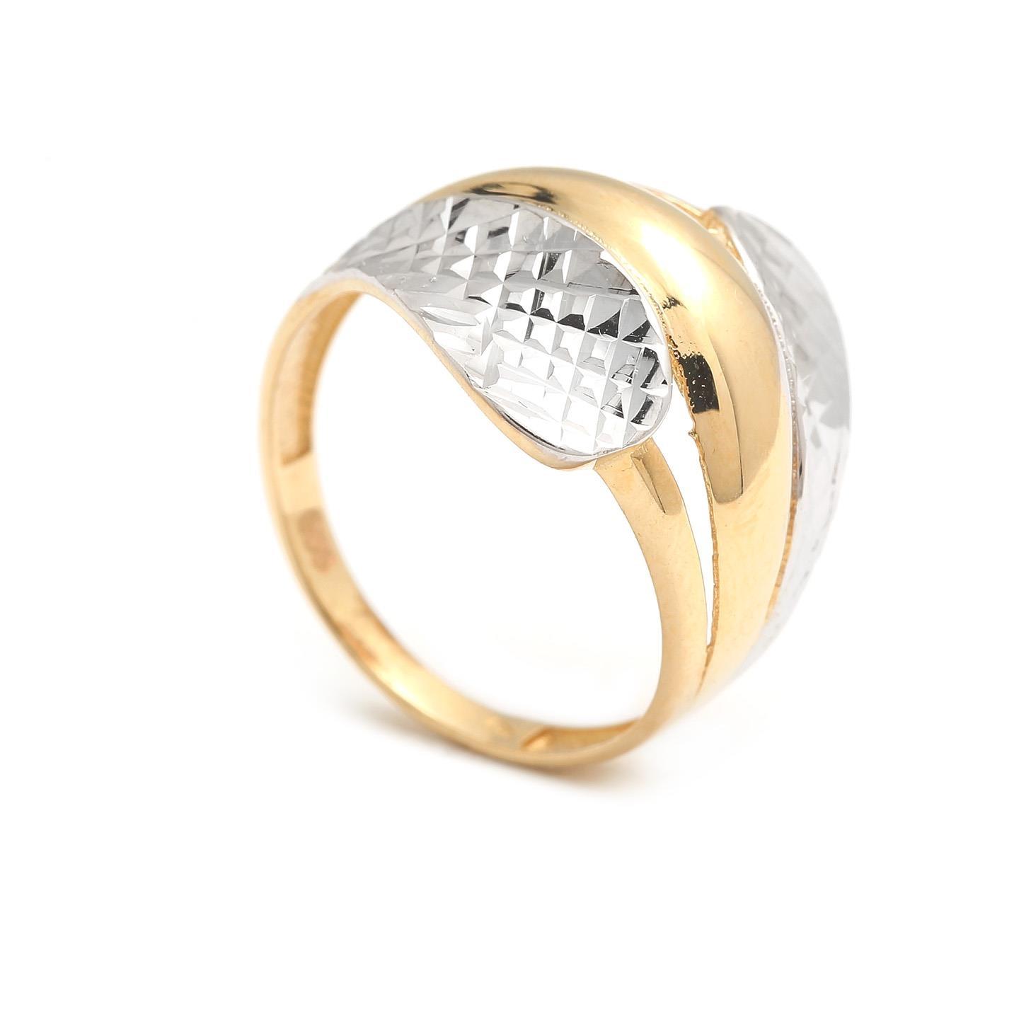 Zlatý dámsky prsteň AHAVA 4PK00195