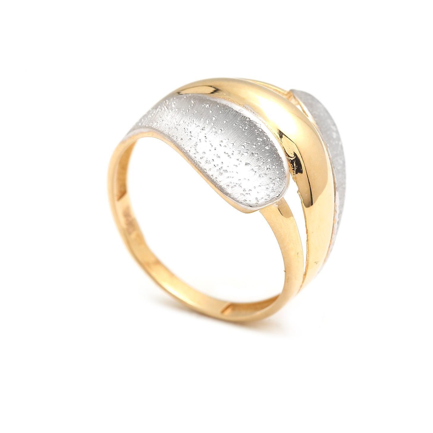 Zlatý dámsky prsteň AHUVA 4PK00196