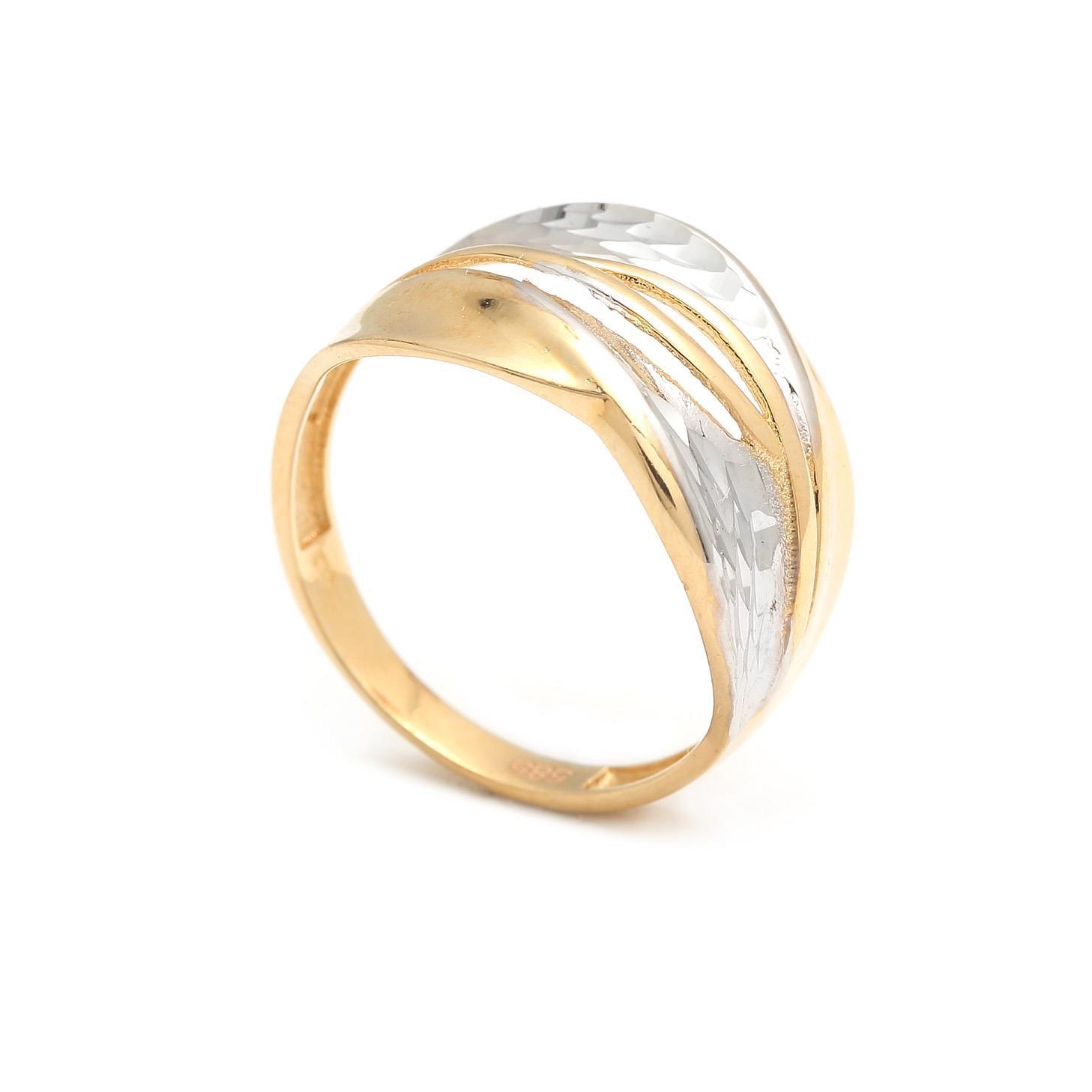 Zlatý dámsky prsteň AMALYA 4PK00202