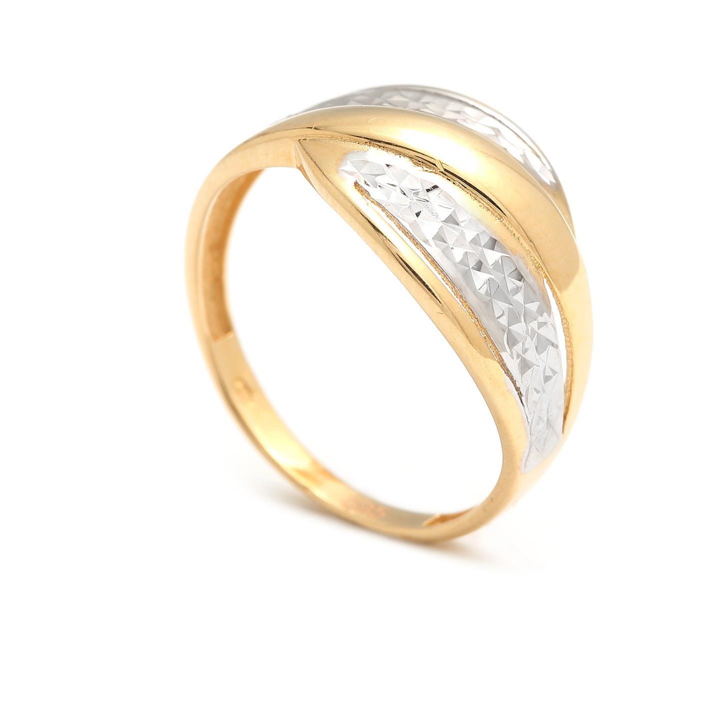 Zlatý dámsky prsteň AMINA 4PK00197