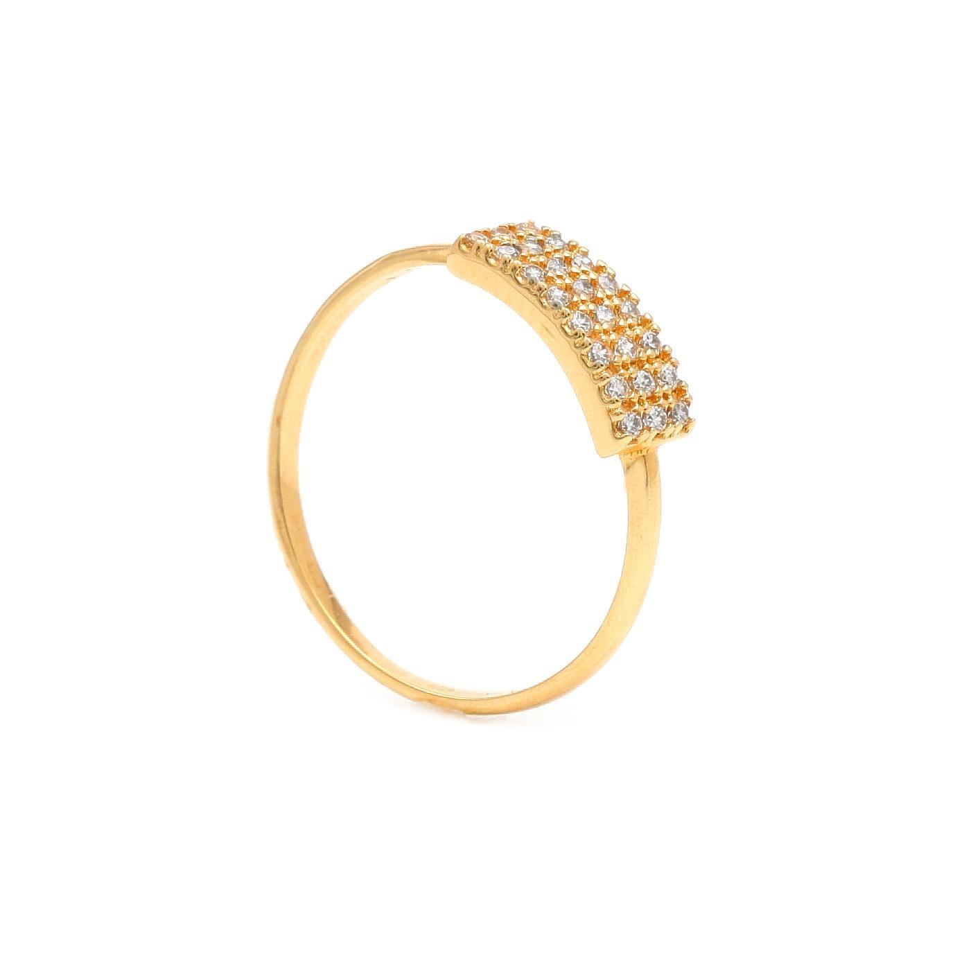 Zlatý dámsky prsteň ANDERE 7PZ00360