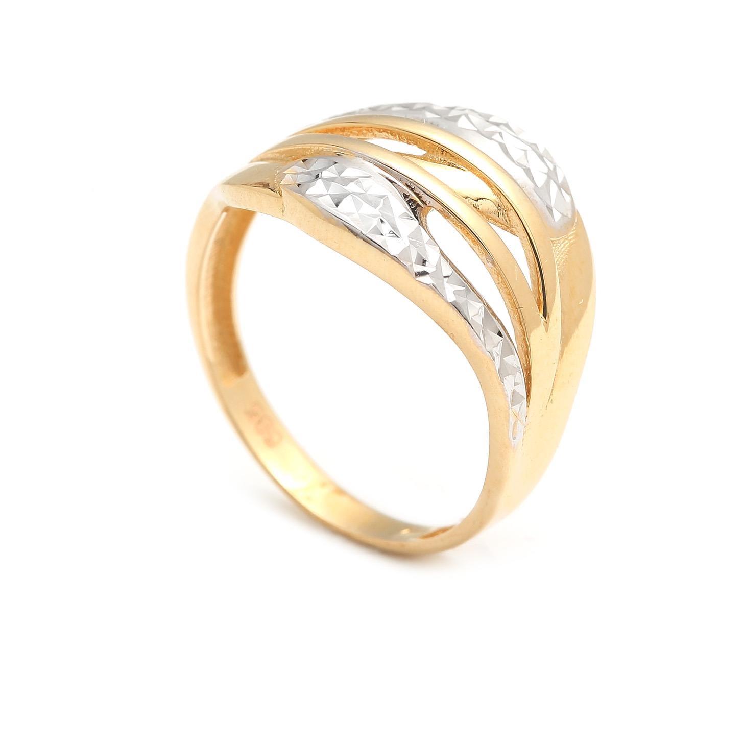 Zlatý dámsky prsteň APHRA 4PK00203