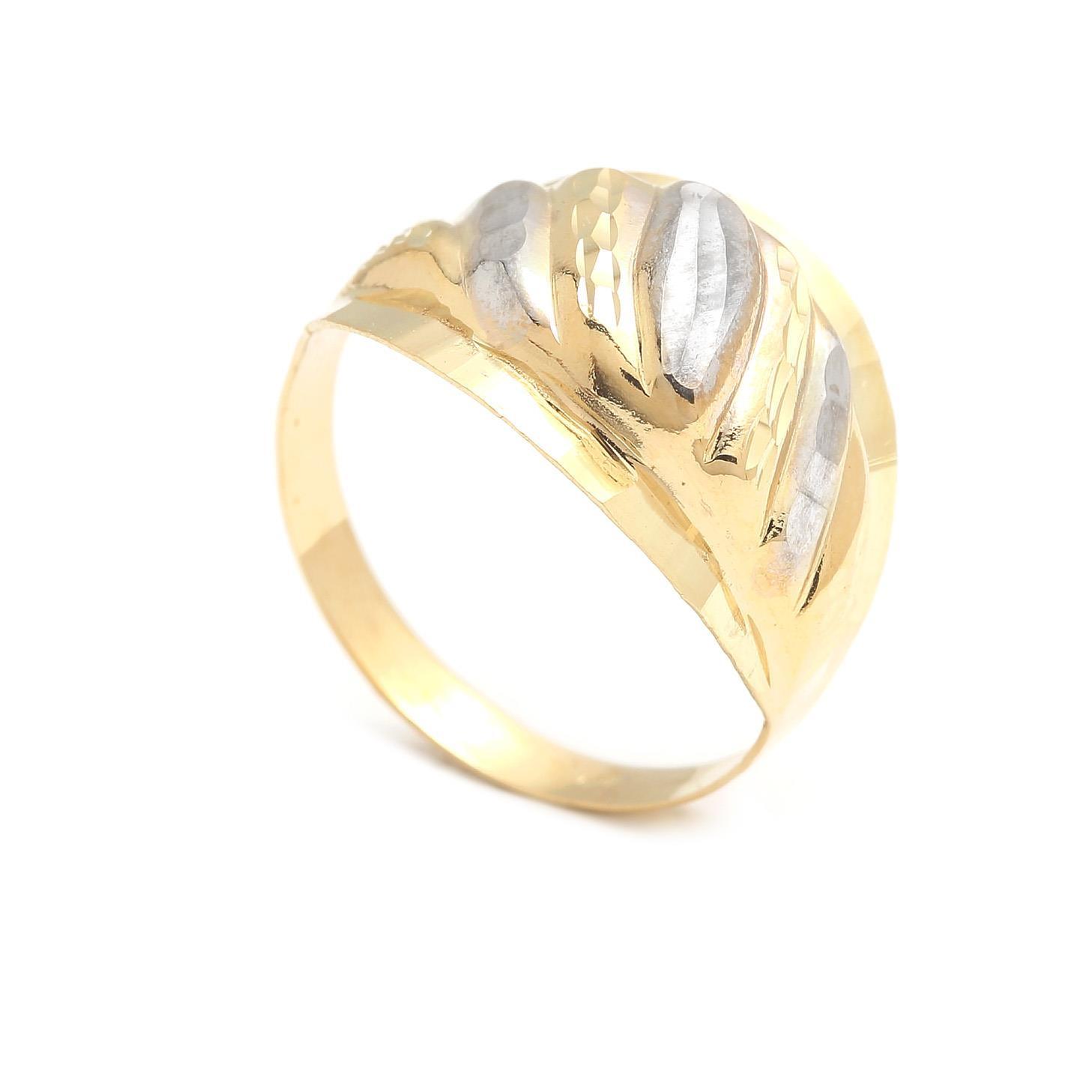 Zlatý dámsky prsteň BASIA 4PK00204