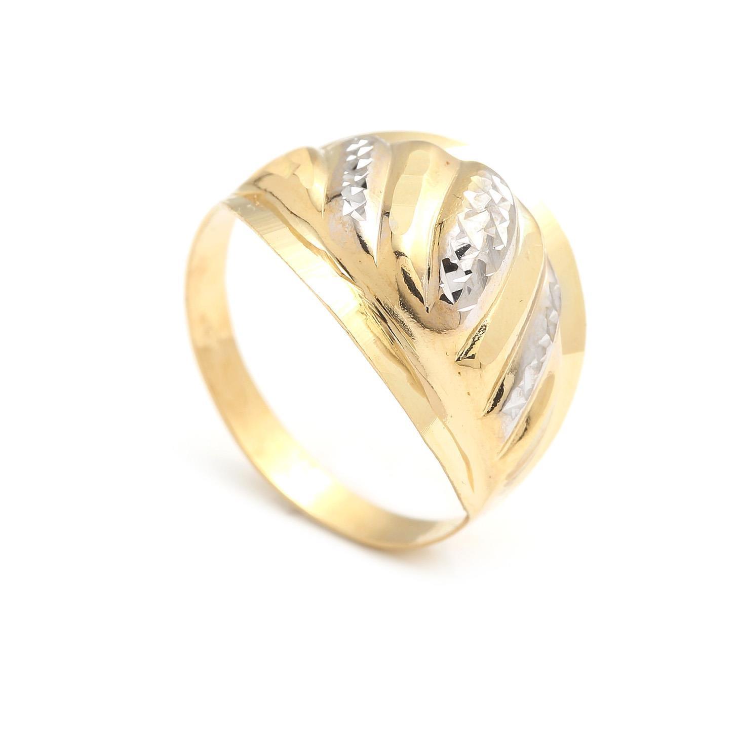 Zlatý dámsky prsteň BASYA 4PK00205