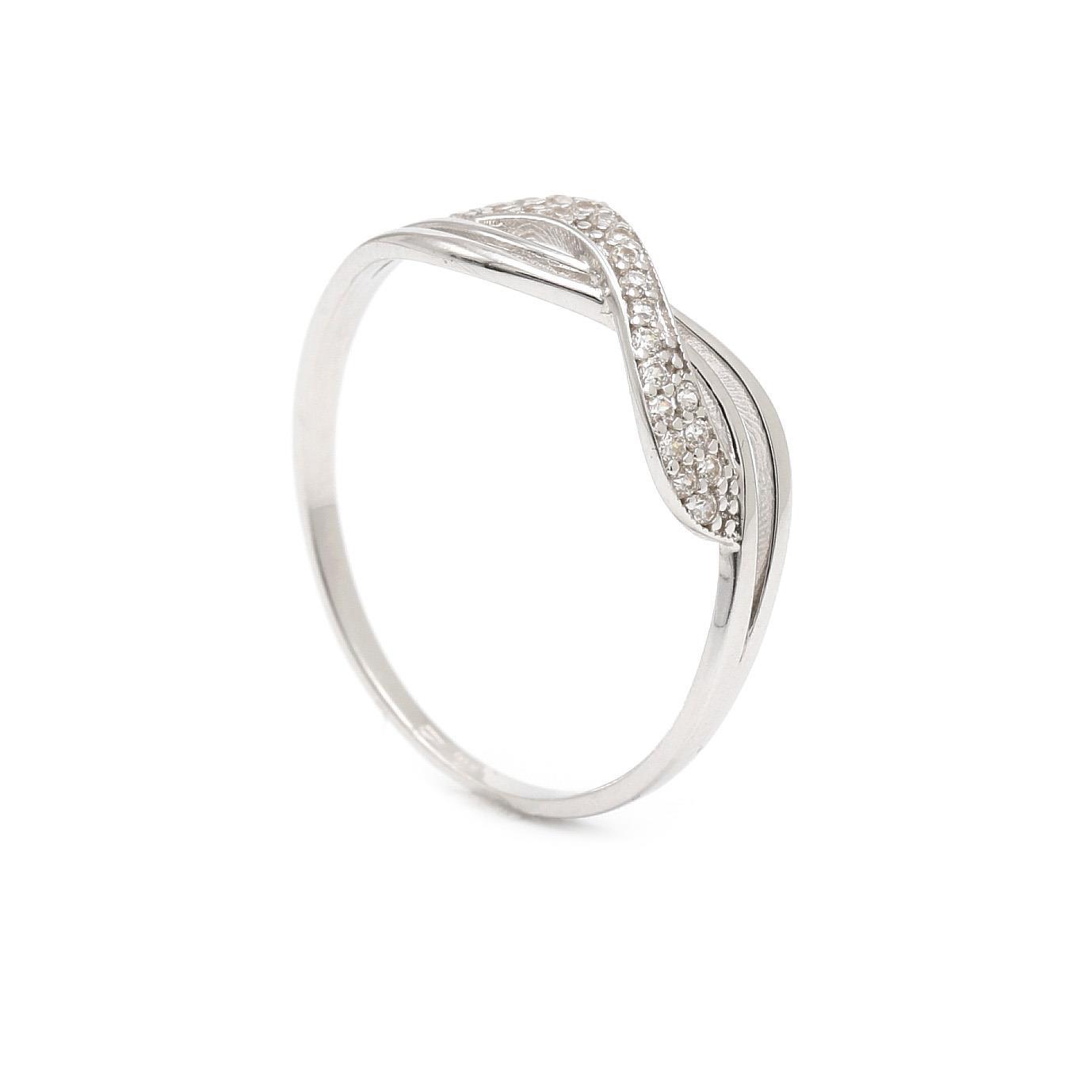 Zlatý dámsky prsteň BIHOTZ 7PB00362