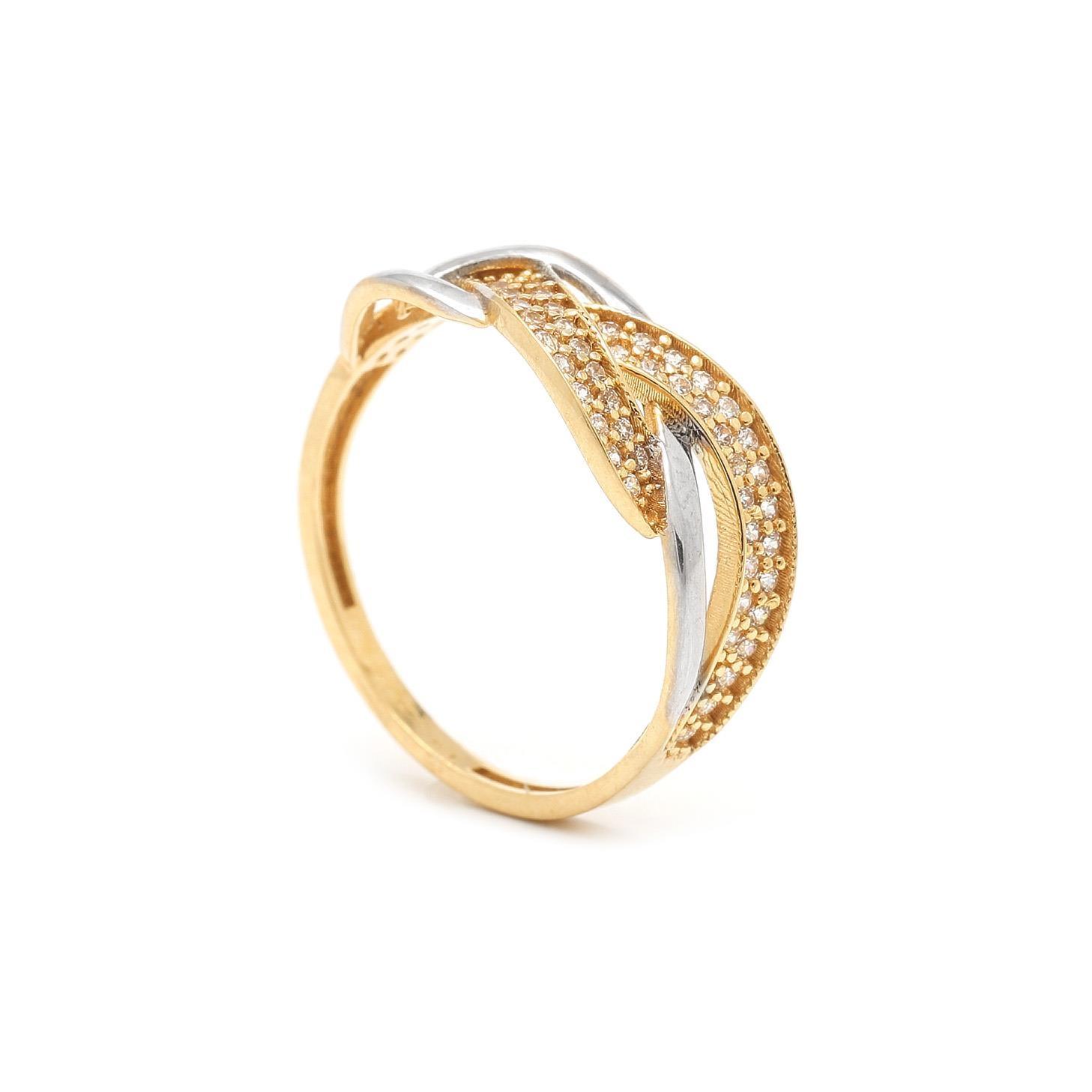 Zlatý dámsky prsteň BILGE 7PZ00324