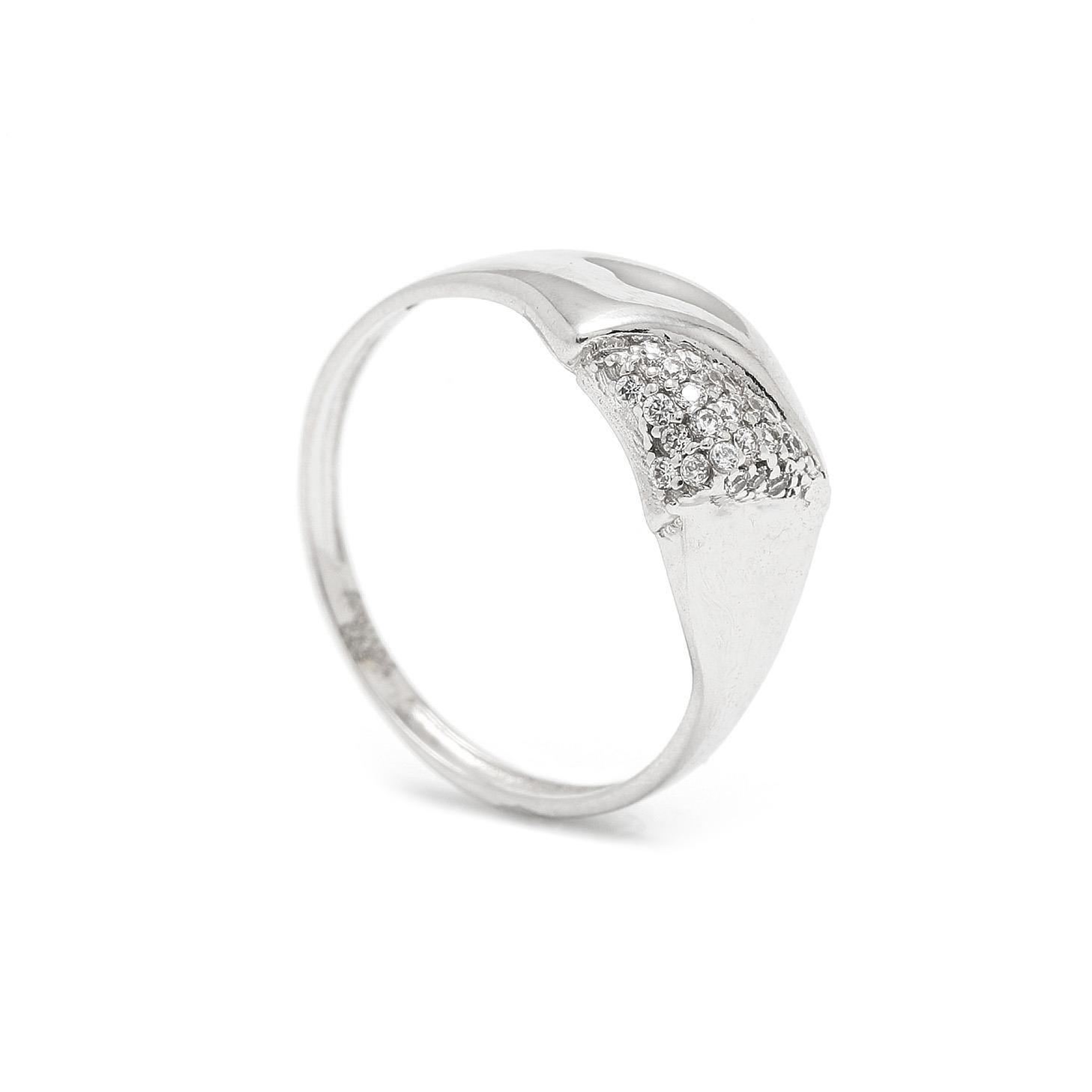 Zlatý dámsky prsteň CLARISA 7PB00329