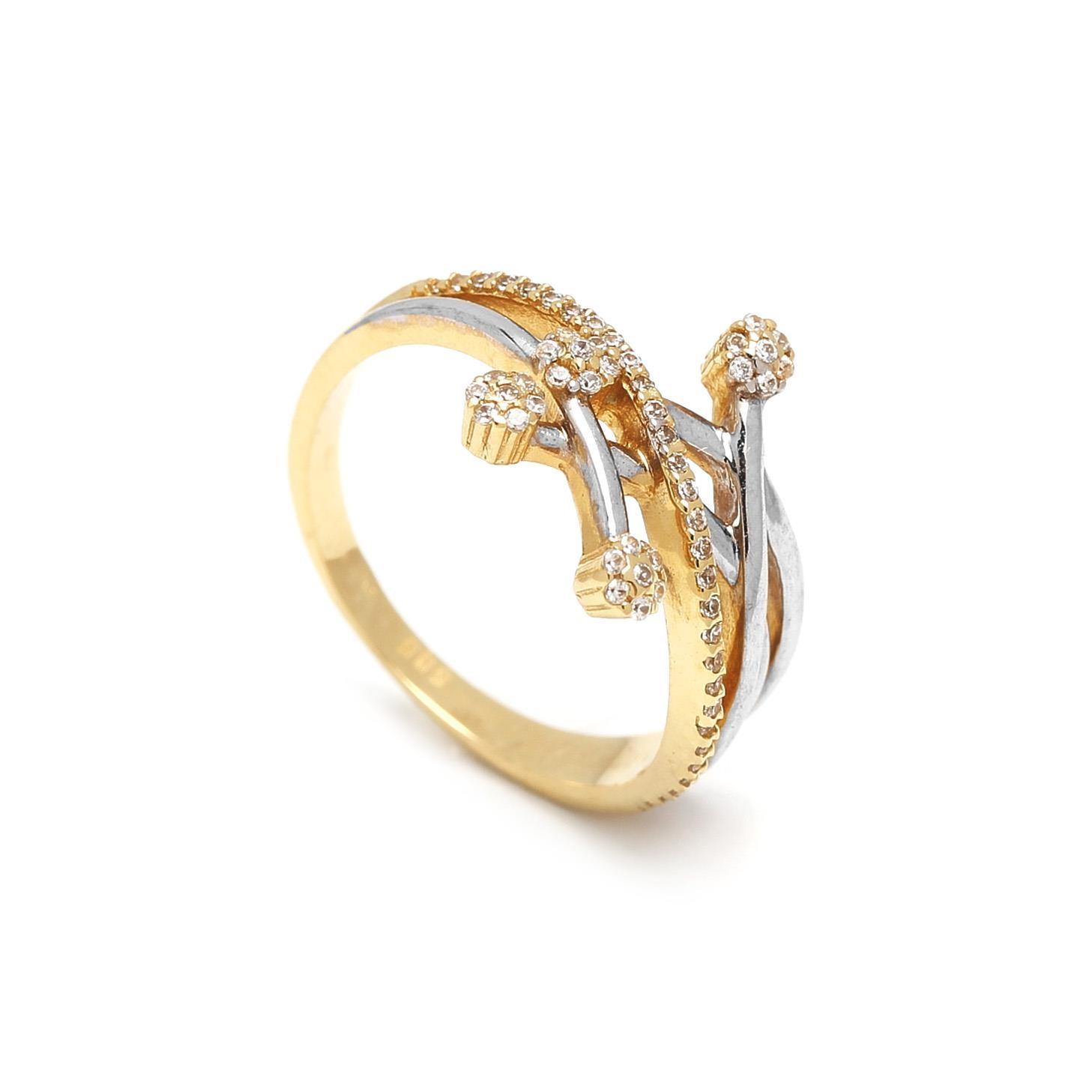 Zlatý dámsky prsteň DEBORA 1PK00005