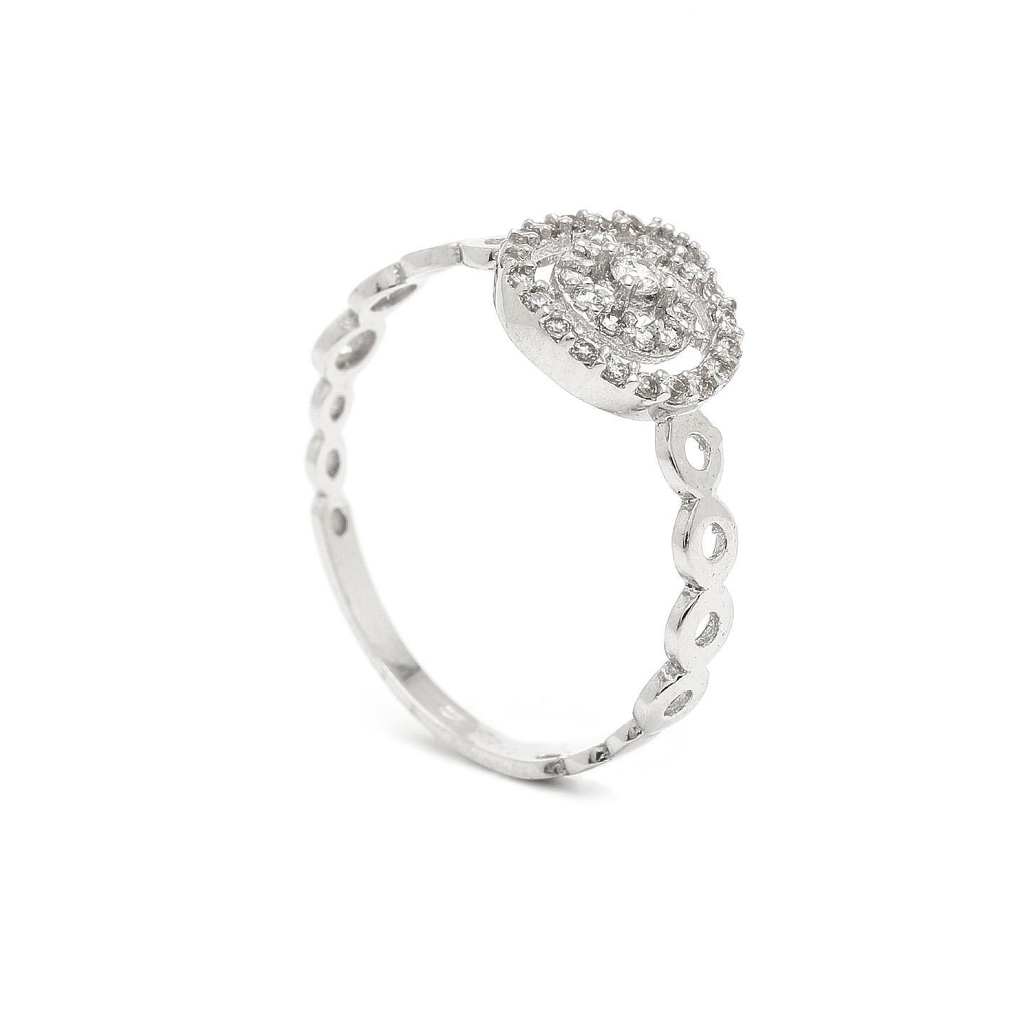 Zlatý dámsky prsteň DERYA 7PB00312
