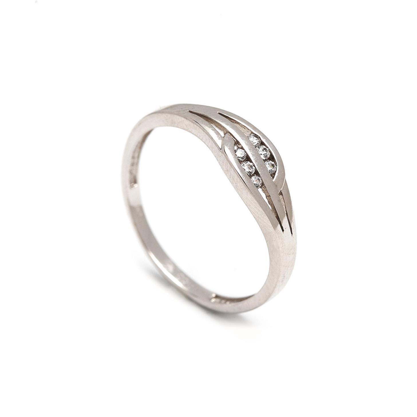 Zlatý dámsky prsteň DETTA 1PB00008