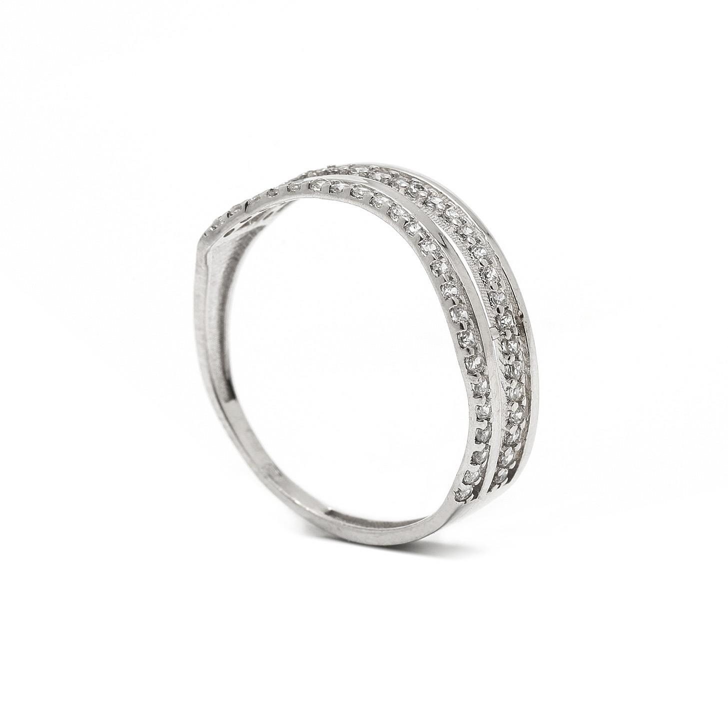 Zlatý dámsky prsteň DEVIKA 7PB00337